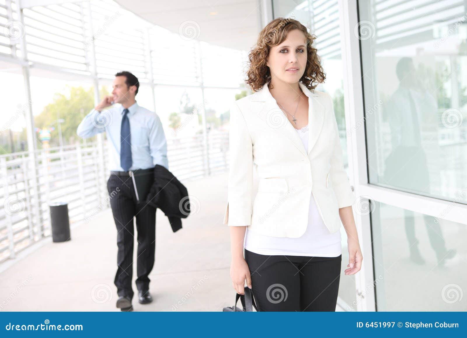 Biuro biznesowego pretty woman