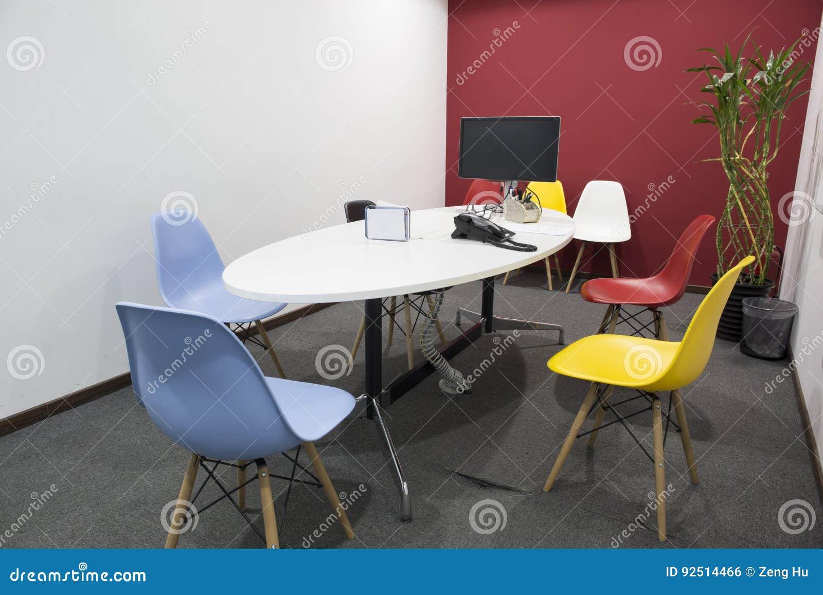 Biuro pusty pokój konferencyjny
