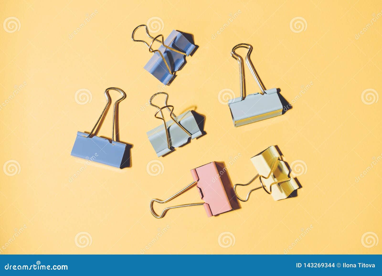 Biurowe clothespins klamerki