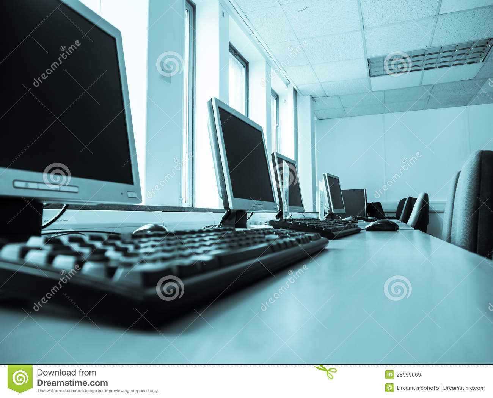 Biurowy komputer