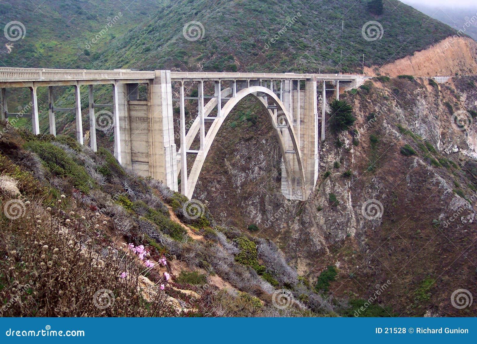 Bixby brug-Californië