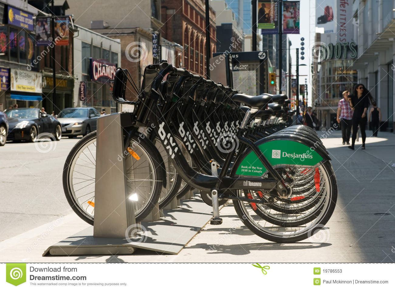 Bicycle sharing system bixi comes to