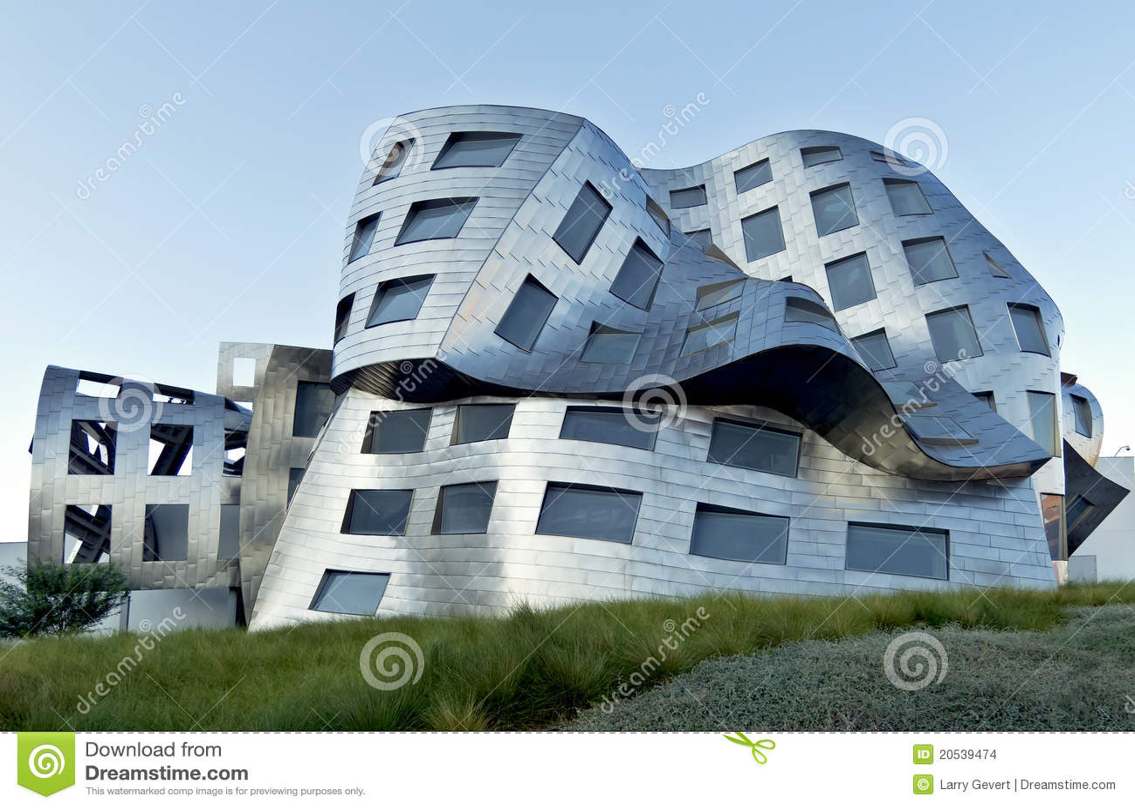 Bizarre architectuur in las vegas redactionele stock for Architettura contemporanea barcellona