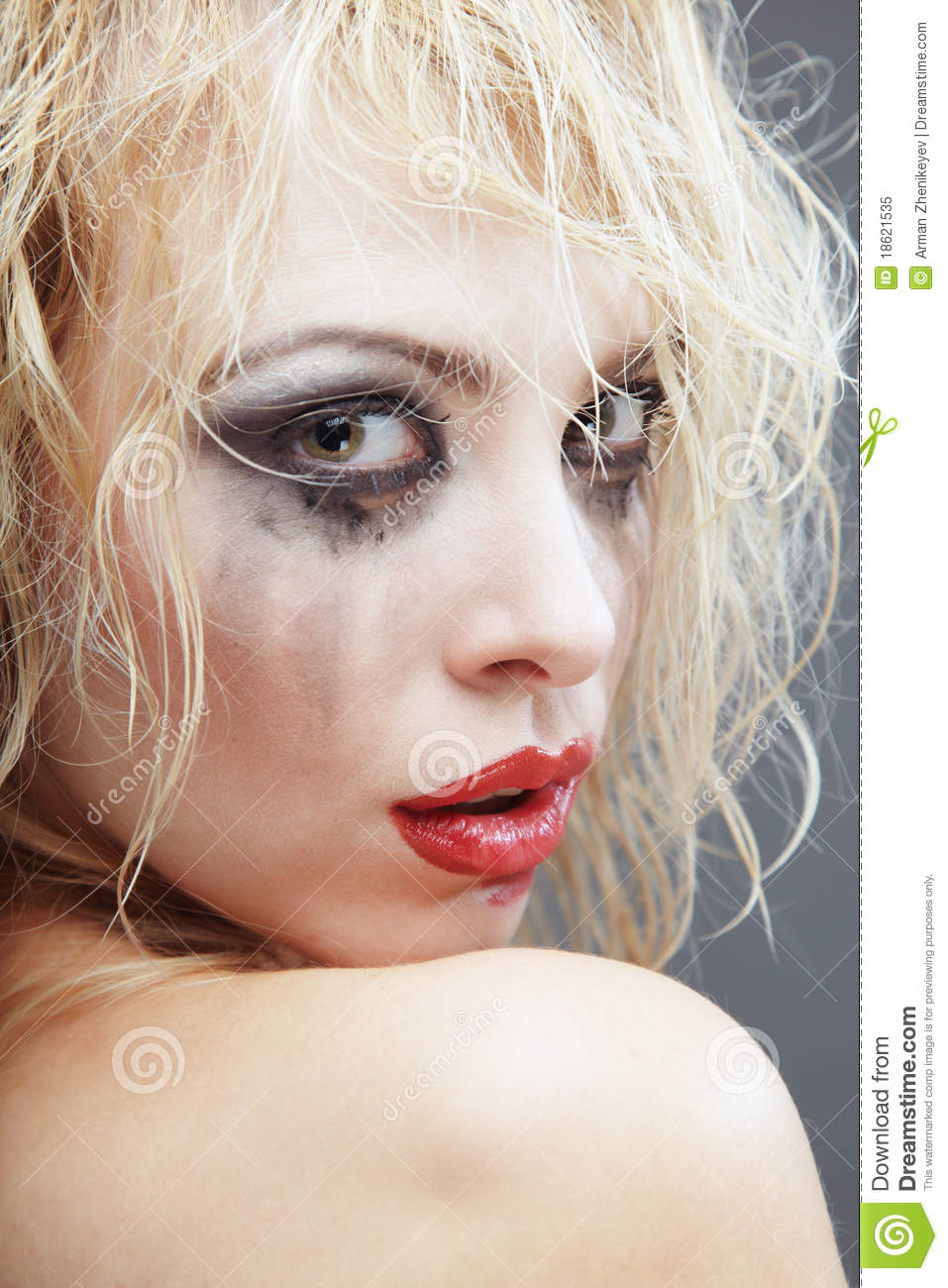 Bizarre Beauty Stock Image Image Of Head Human Mascara