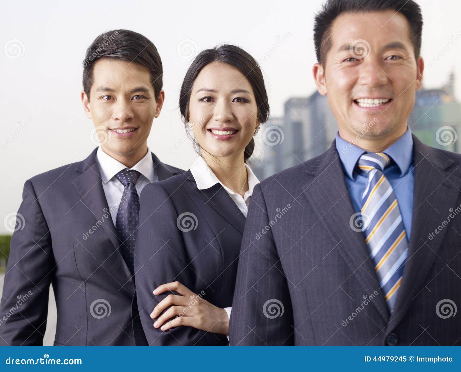 Biznes azjatycka Drużyna