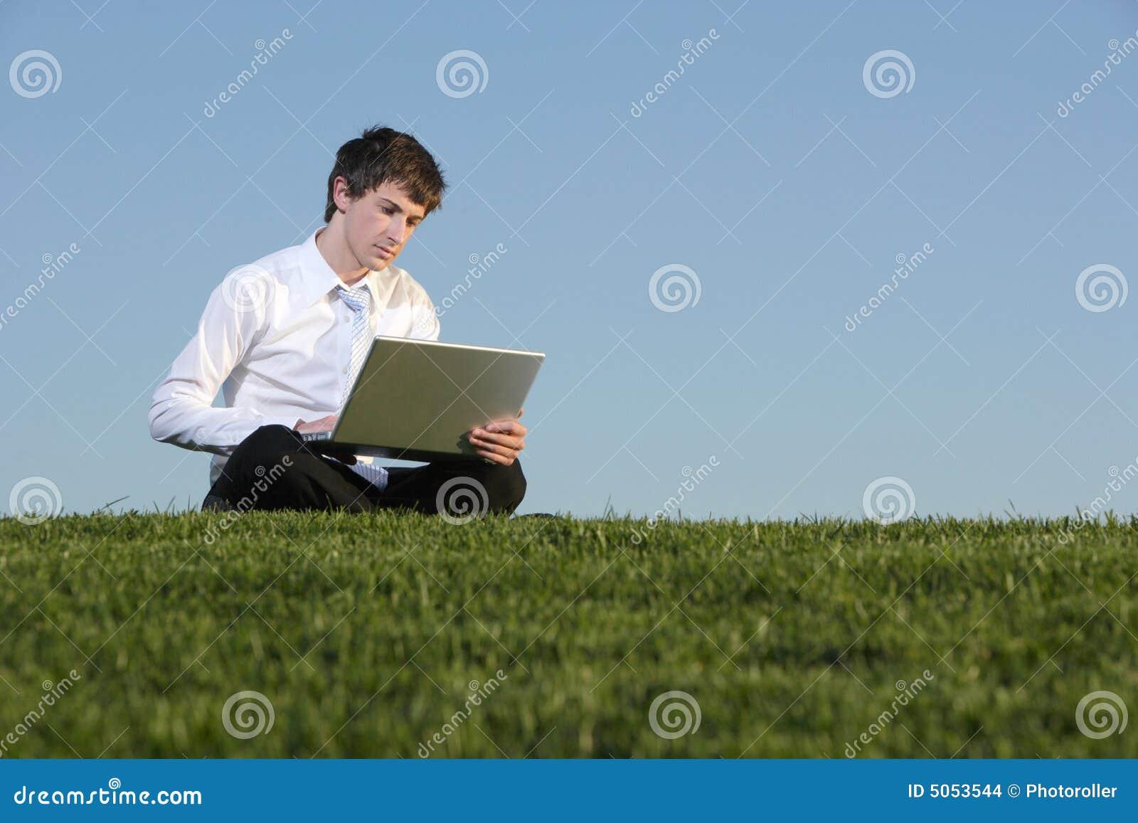 Biznes laptopa ludzi