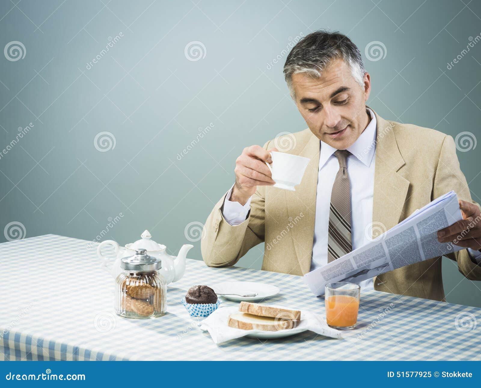 Biznes ma odżywki śniadanie