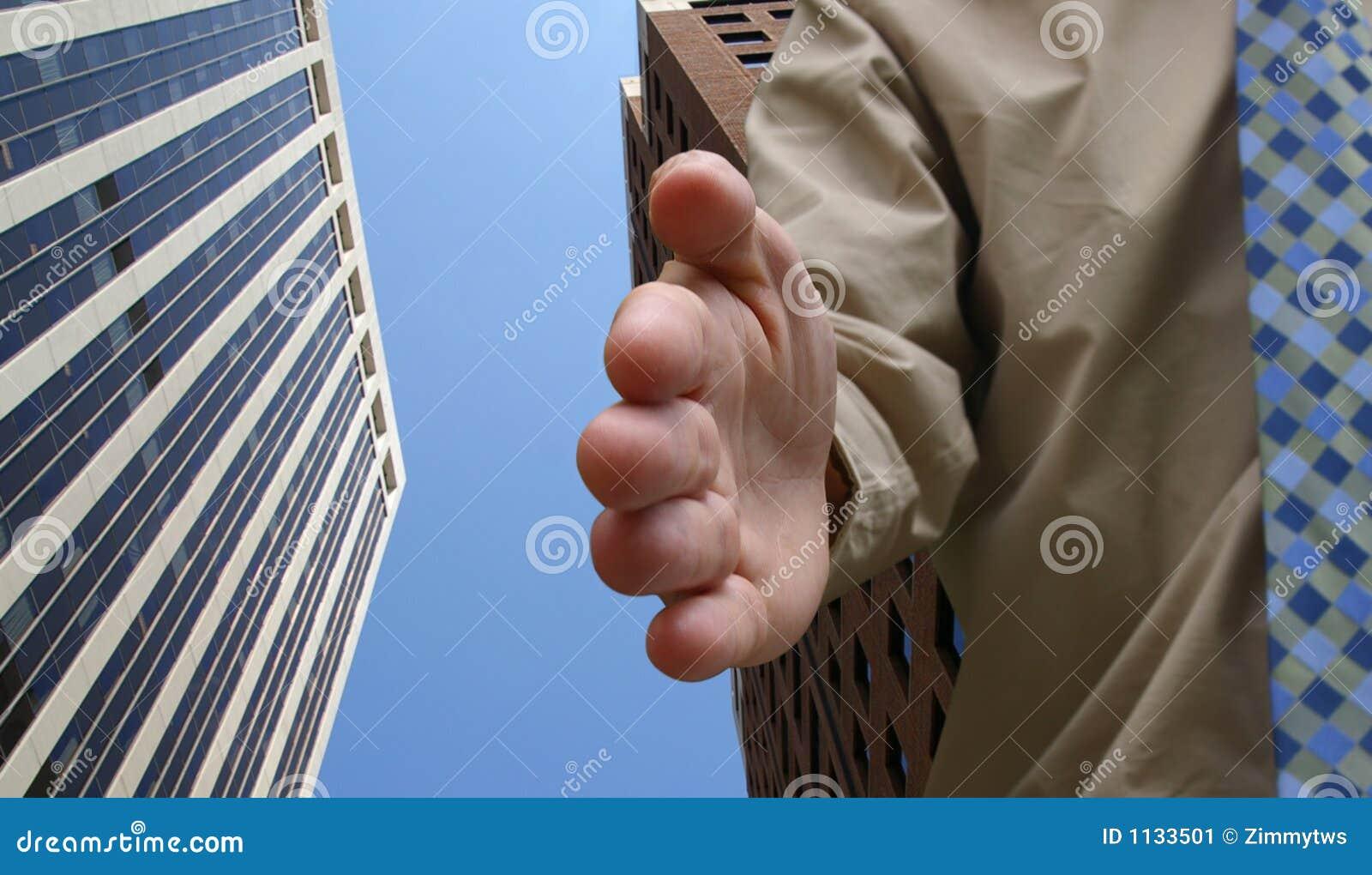 Biznes uścisk dłoni