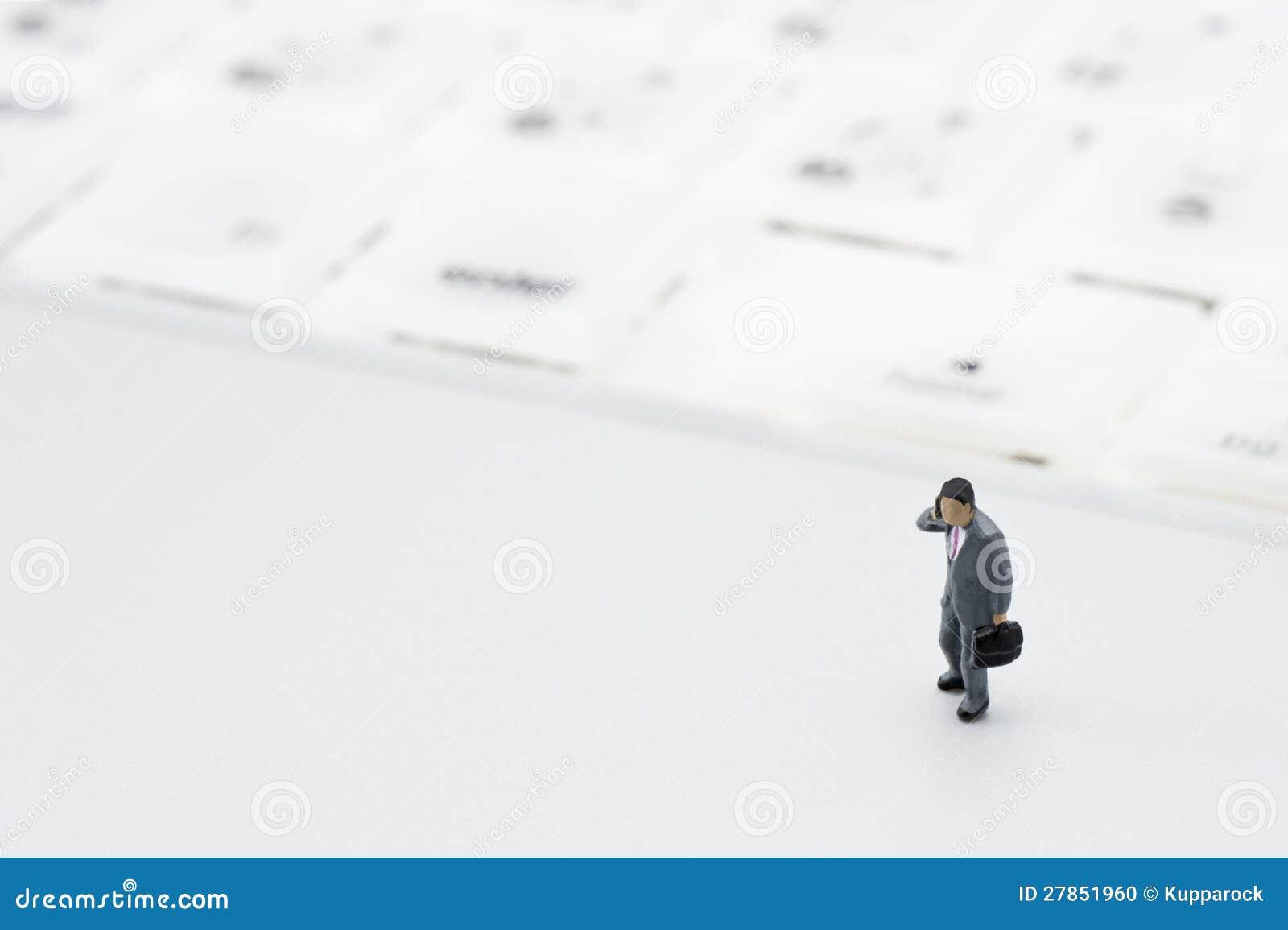 Biznesmen figurka