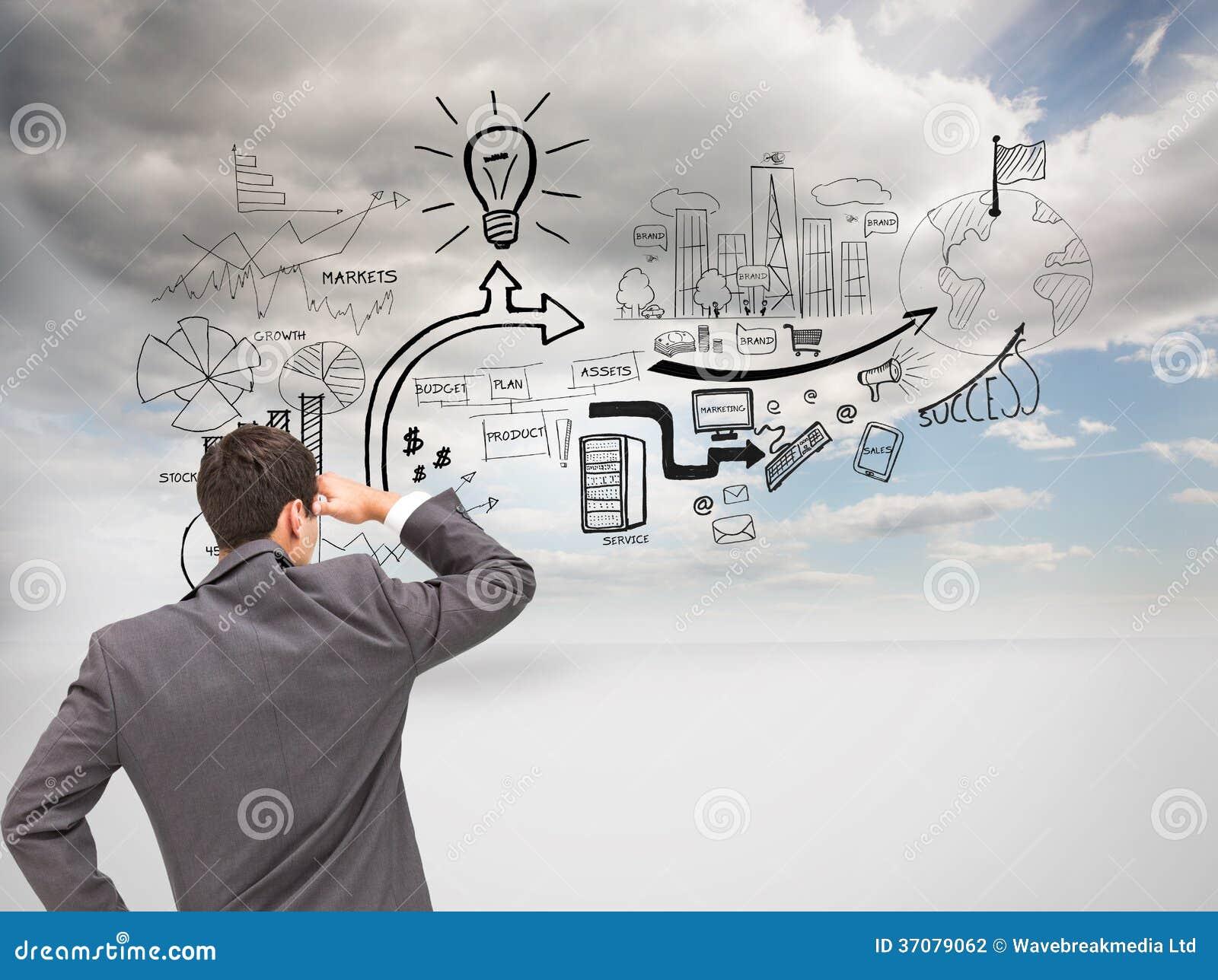 Download Biznesmen Pozyci Ręka Na Biodrze Zdjęcie Stock - Obraz złożonej z ziemia, pogodny: 37079062