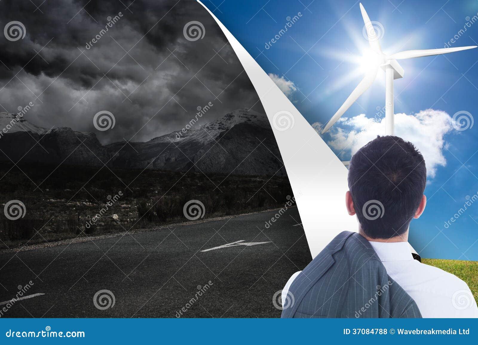 Download Biznesmen pozycja zdjęcie stock. Obraz złożonej z sheetrock - 37084788