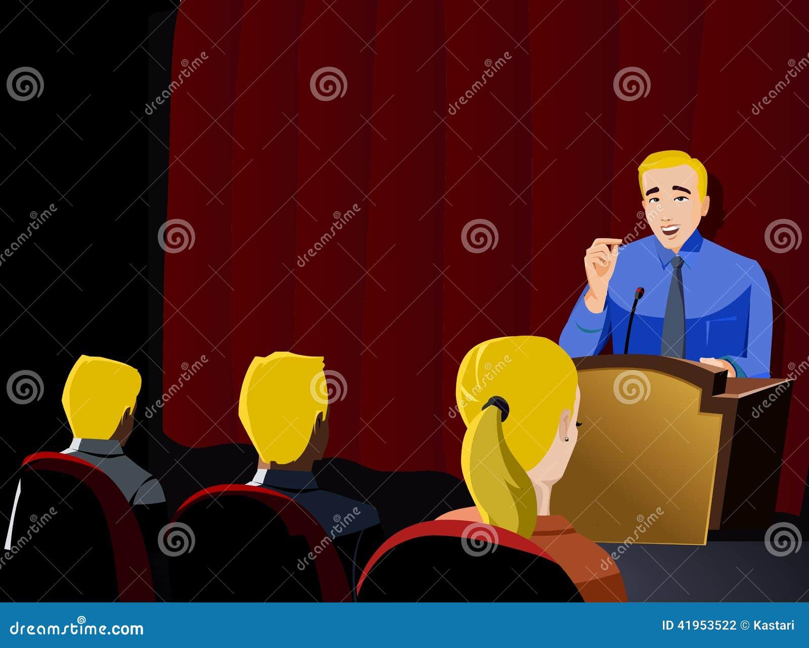 Biznesmen prezentacja