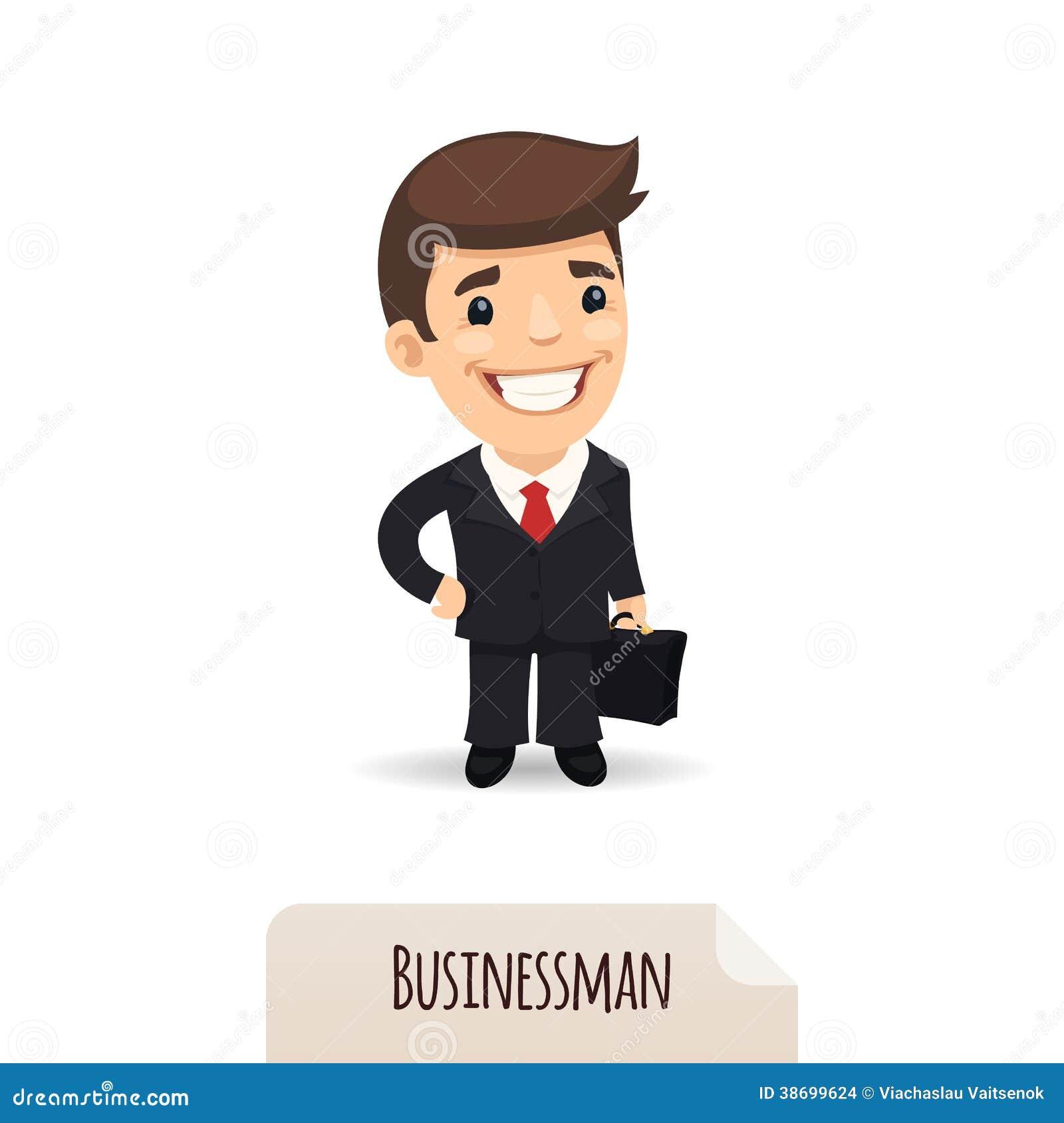 Biznesmen z teczką
