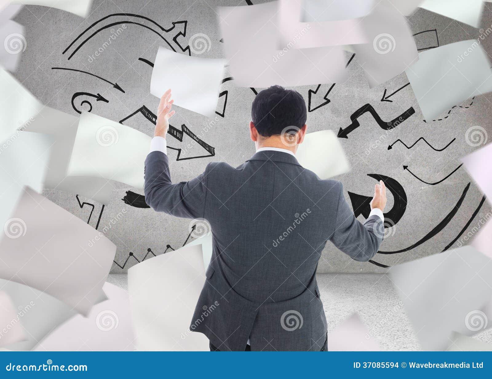 Download Biznesmena łapanie zdjęcie stock. Obraz złożonej z osoba - 37085594