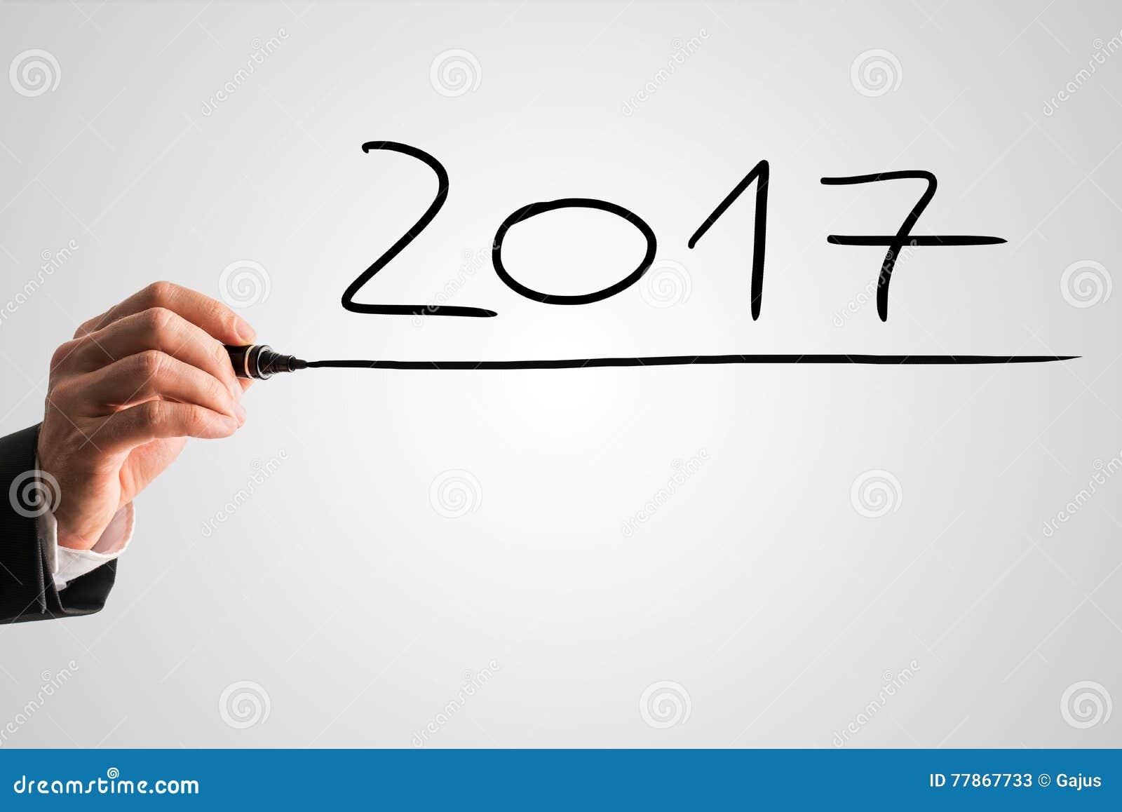 Biznesmena handwriting daktylowy 2017