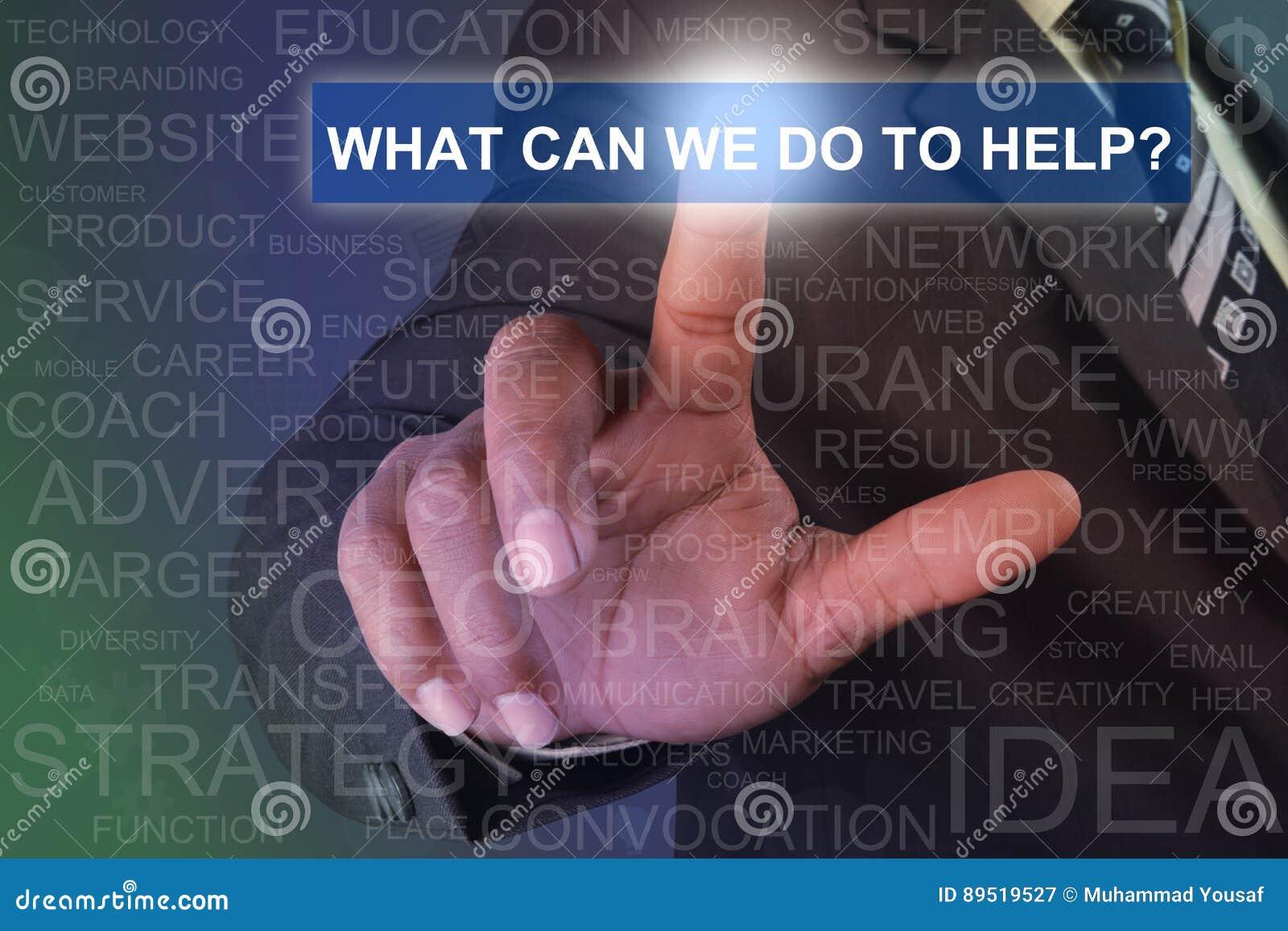 Biznesmena macanie co może robić pomagać zapinać na wirtualnym sc my
