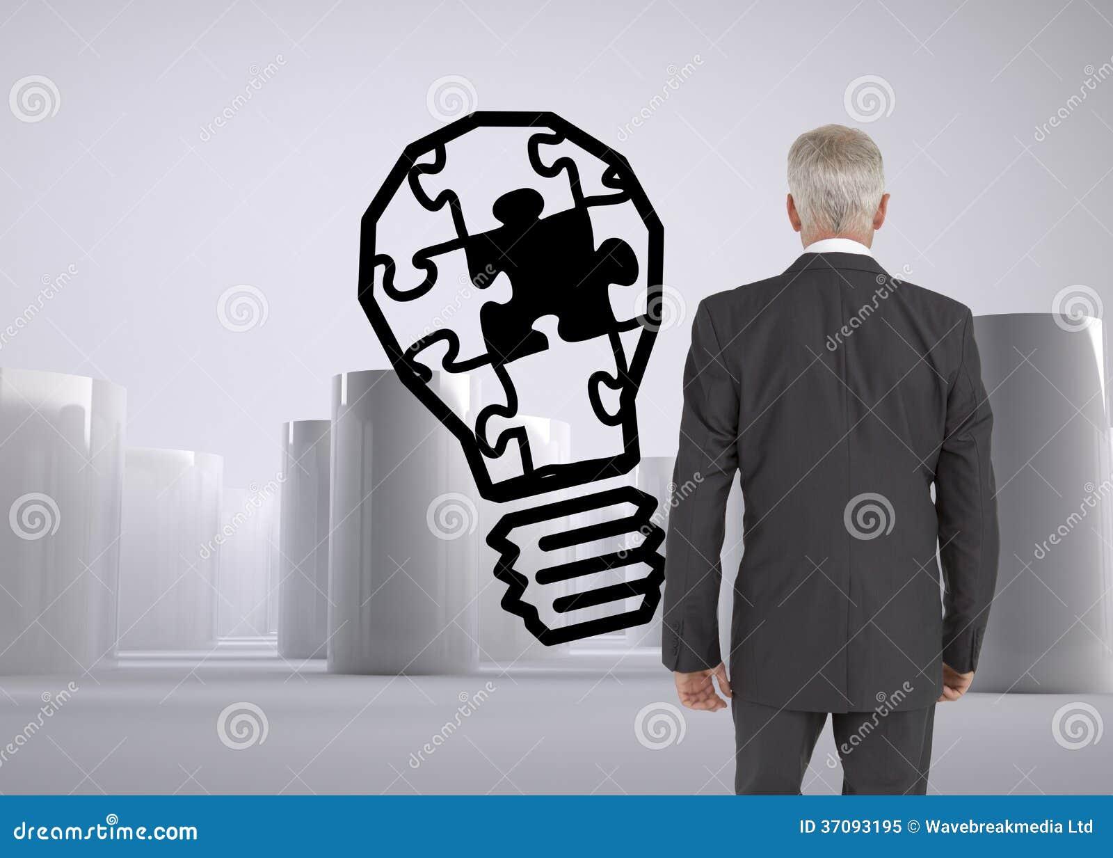 Download Biznesmena Odprowadzenie Zdala Od Kamery Obraz Stock - Obraz złożonej z butla, mężczyzna: 37093195