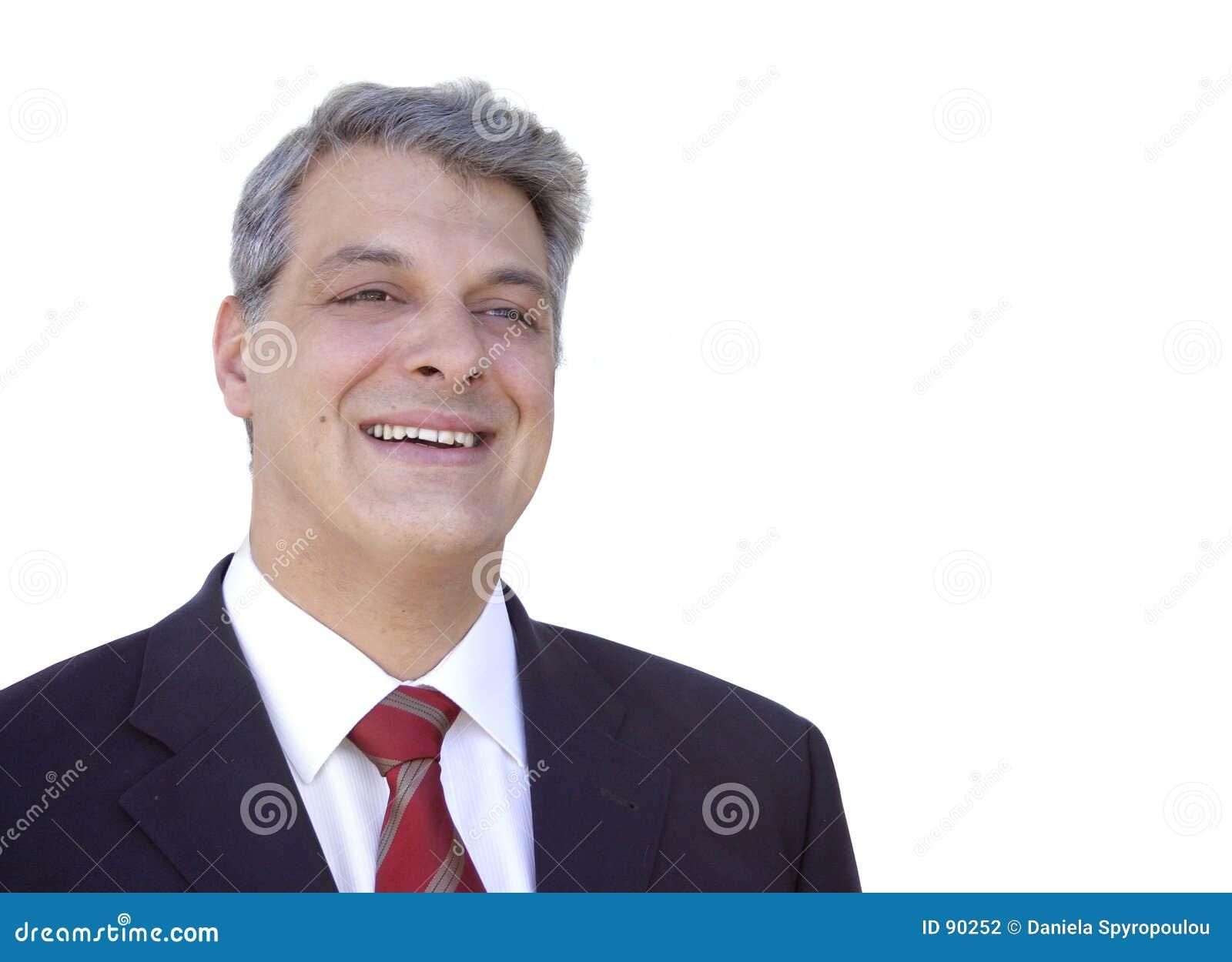 Download Biznesmena uśmiecha się zdjęcie stock. Obraz złożonej z kierownictwo - 90252