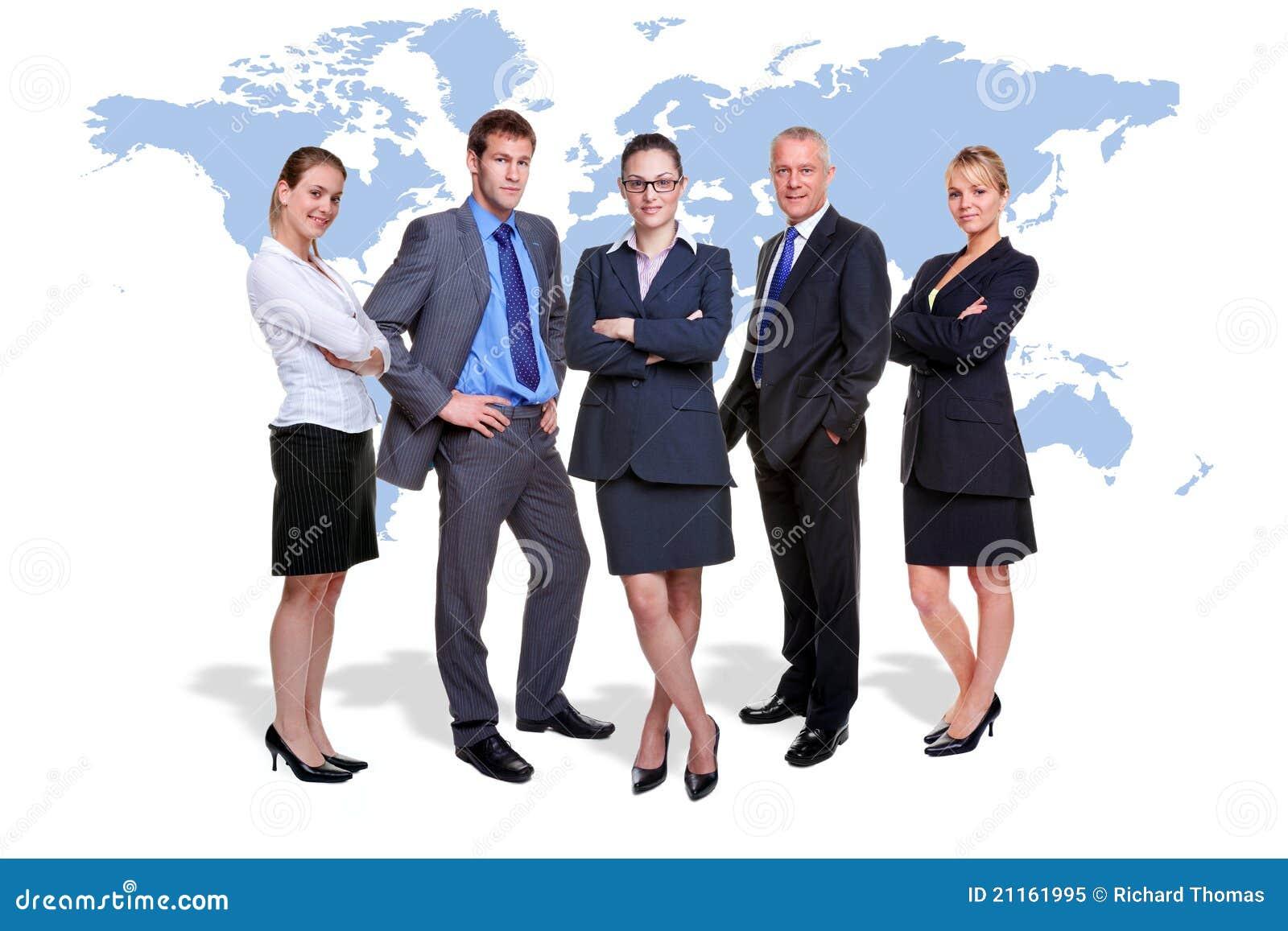 Biznesowa globalna drużyna