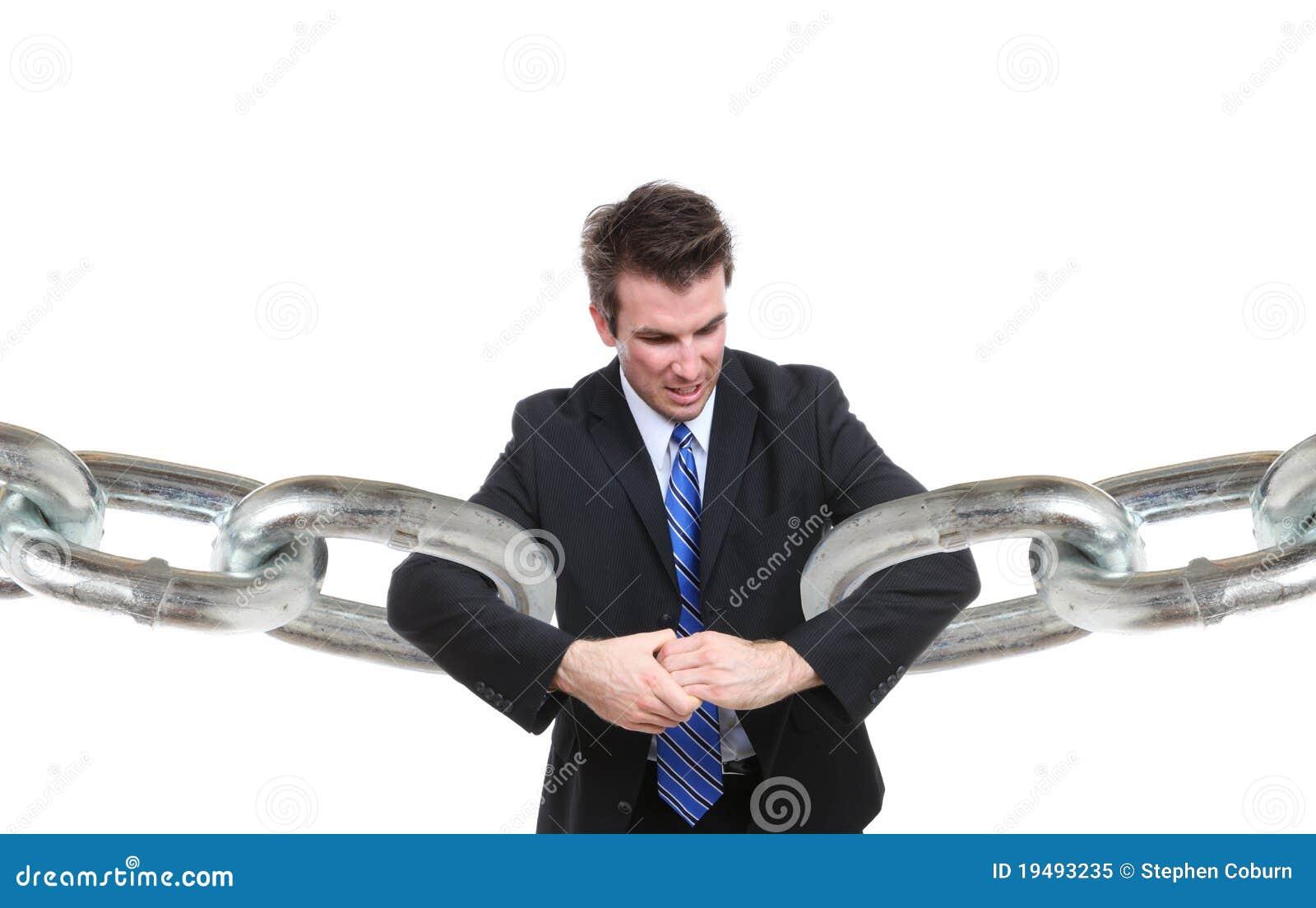 Biznesowego związku mężczyzna