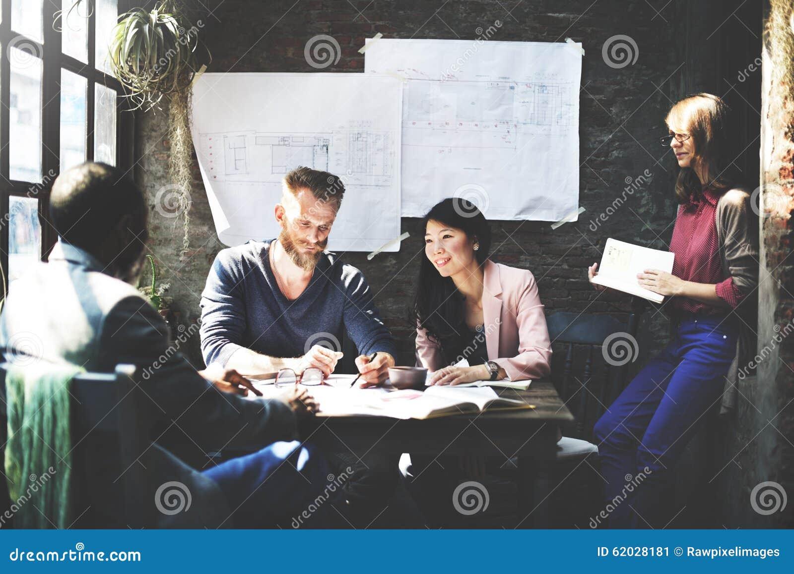 Biznesowej architektury projektant wnętrz spotkania pojęcie