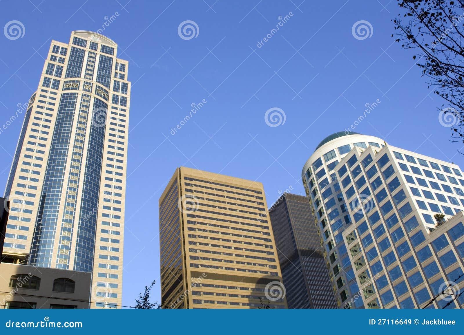 Biznesowi budynki