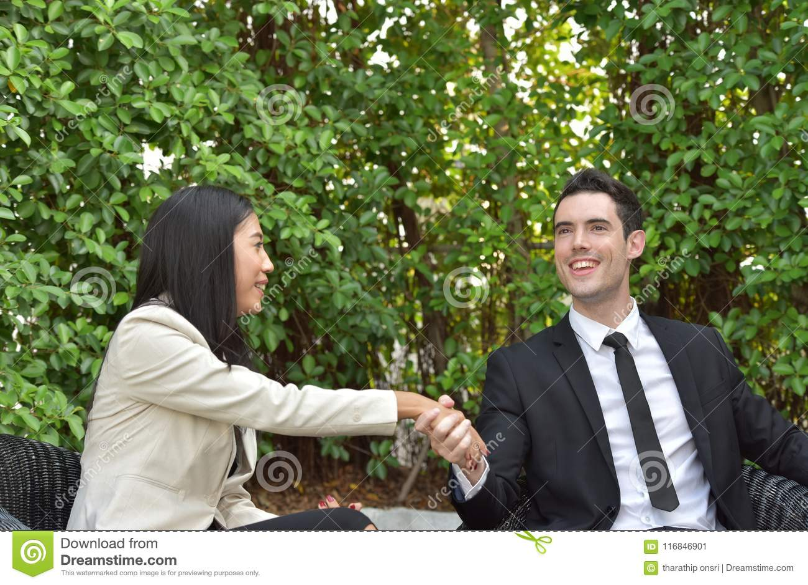 Biznesowy ścinku współpraca zawierać ścieżka Pojęcie niezawodność partnerstwo i współpraca Biznes