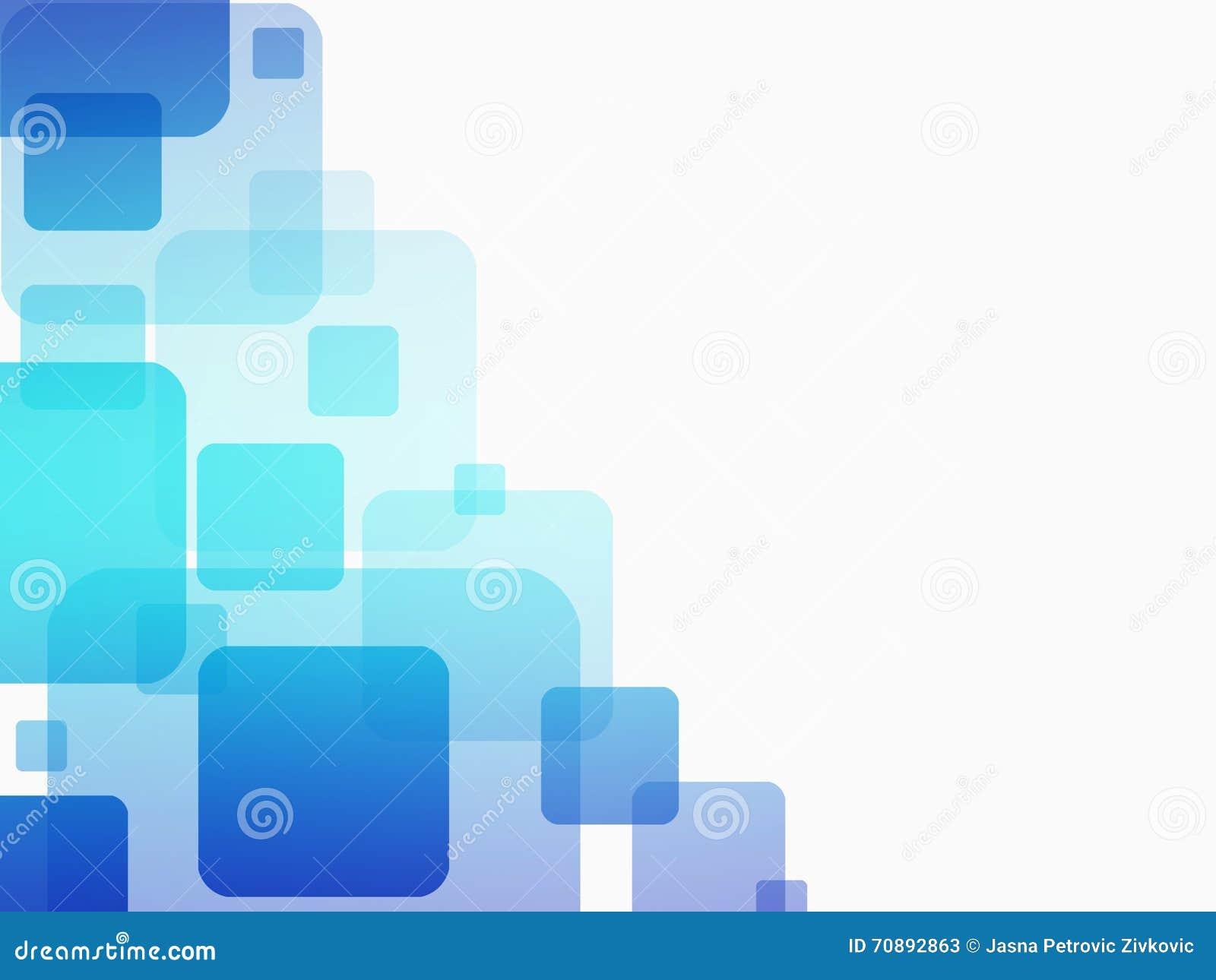 Biznesowy Abstrakcjonistyczny Błękitny tło