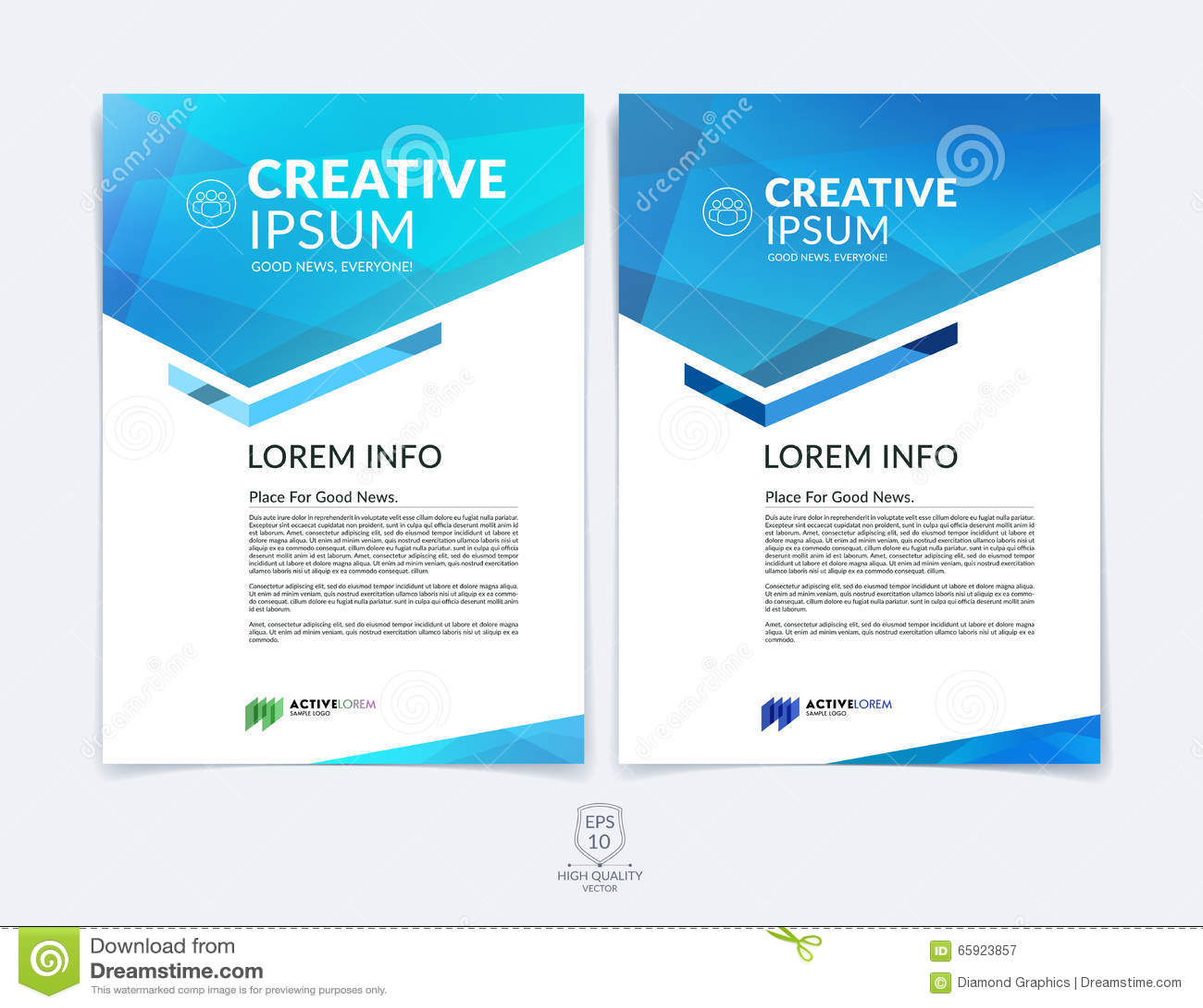 Biznesowy broszurki, ulotki i pokrywy projekta układu szablon z b,