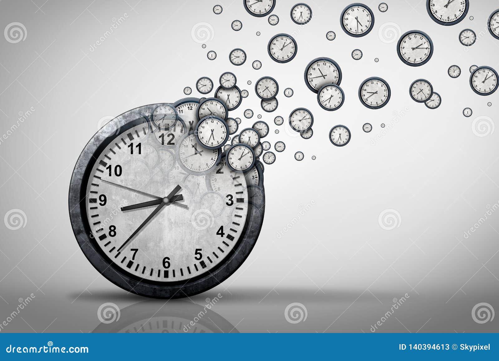 Biznesowy czasu planu pojęcie