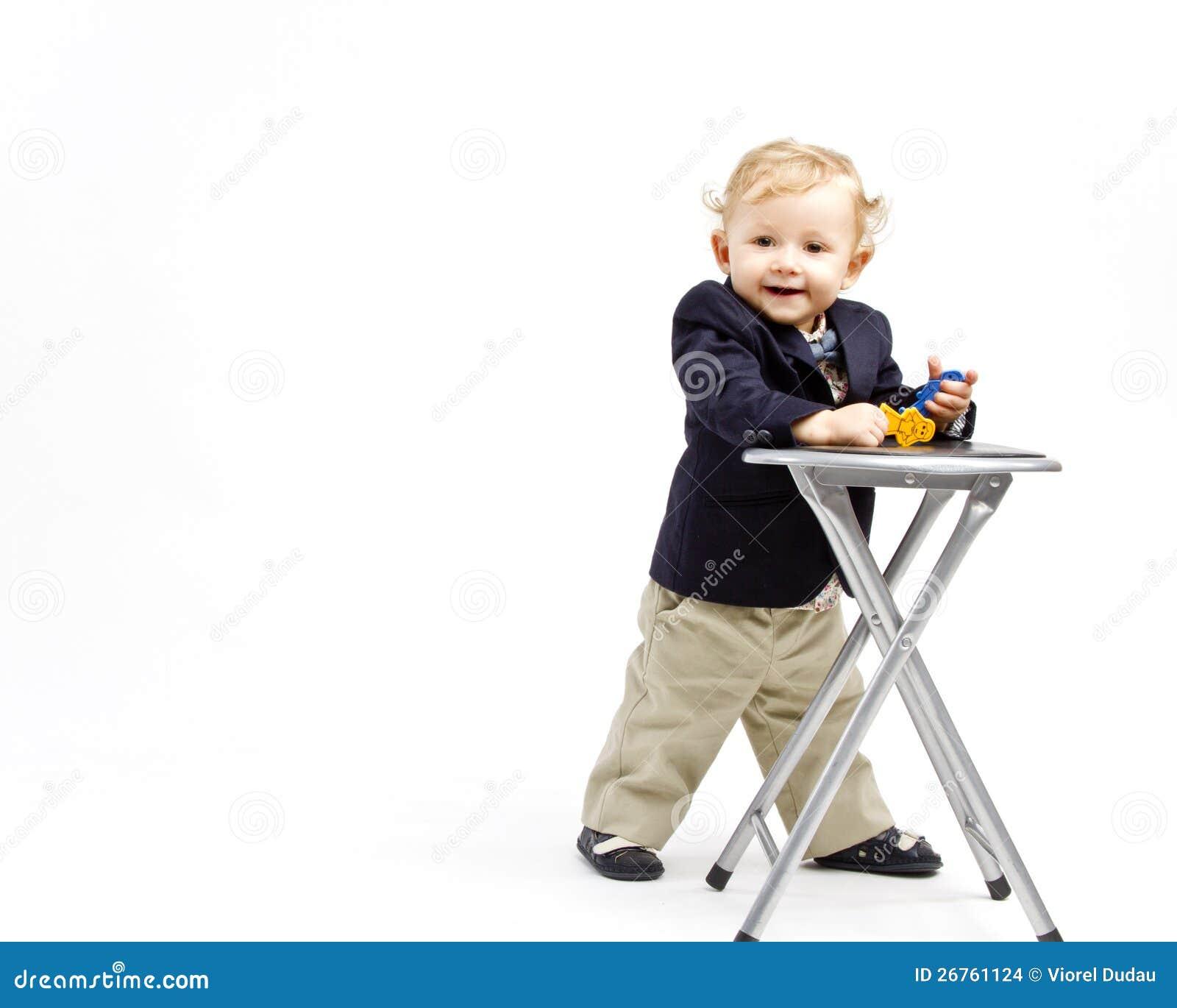 Biznesowy dziecko
