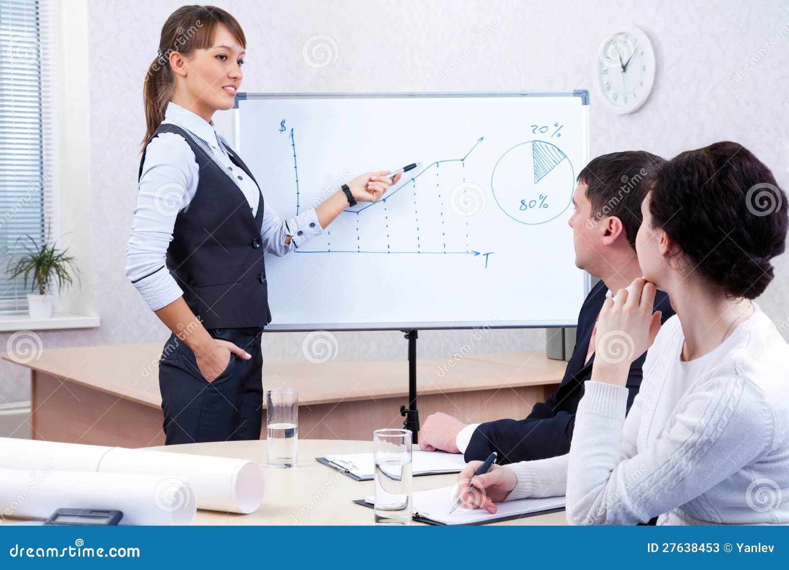 Biznesowy meetting