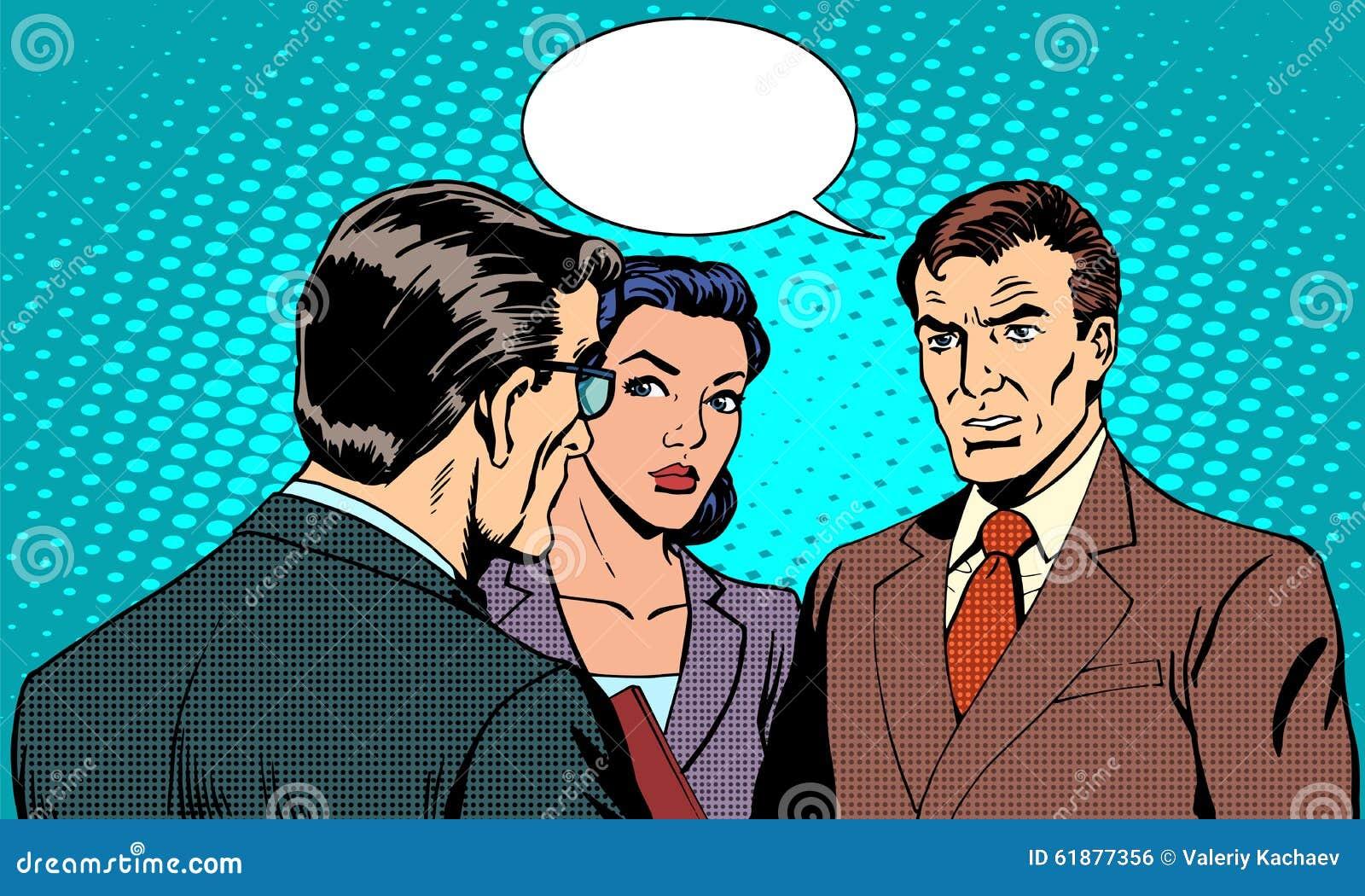 Biznesowy pojęcie warsztata biznesmen
