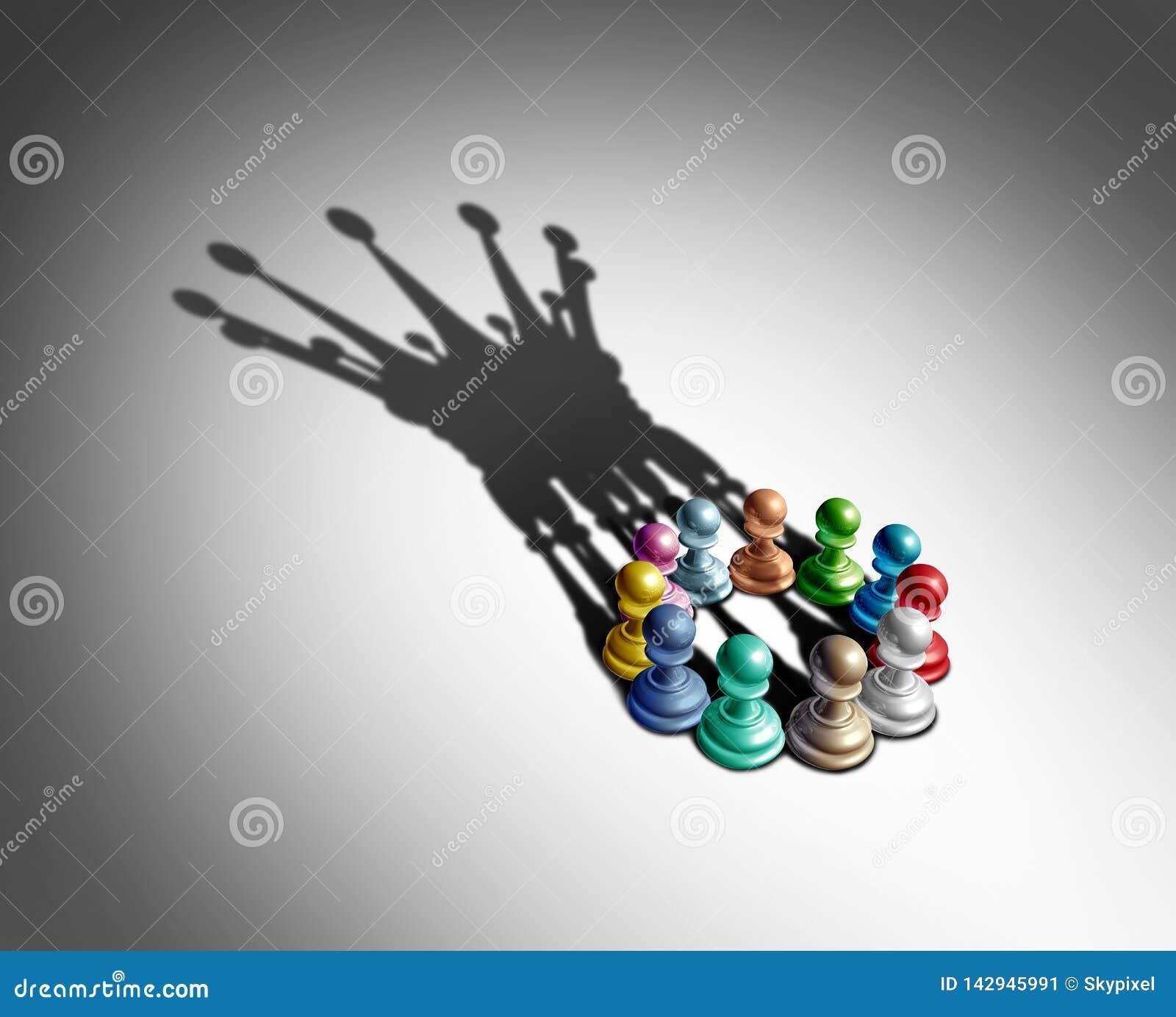 Biznesowy przywódctwo I różnorodność