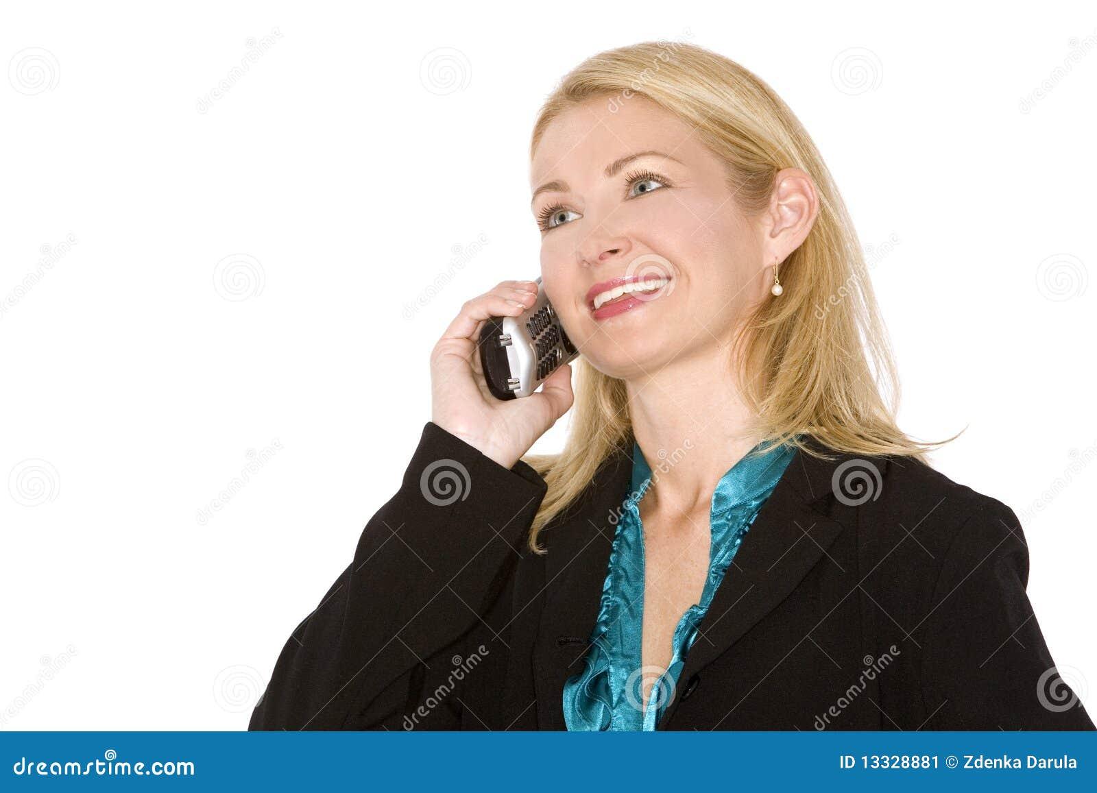 Biznesowy telefon