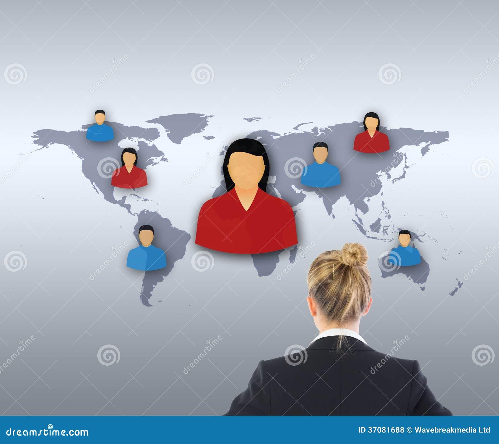 Download Bizneswoman Pozycja Z Rękami Na Biodrach Ilustracji - Ilustracja złożonej z mądrze, digitise: 37081688