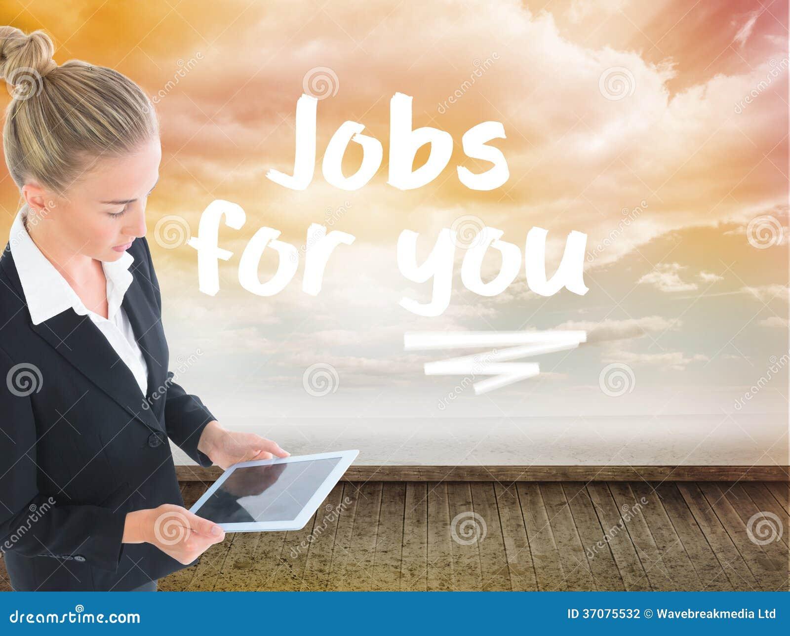 Download Bizneswoman Trzyma Nową Pastylkę Zdjęcie Stock - Obraz złożonej z digitise, digitalis: 37075532