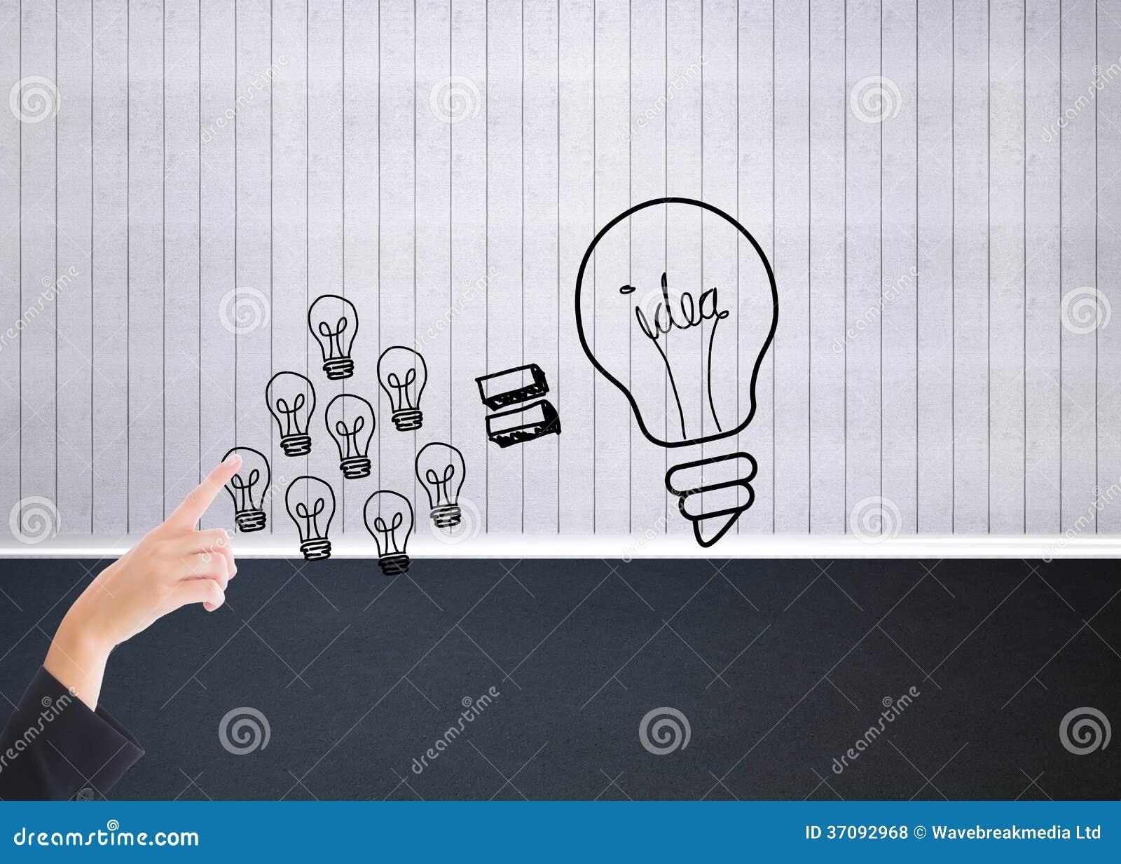 Download Bizneswoman Wskazuje Gdzieś Zdjęcie Stock - Obraz złożonej z osoba, kariera: 37092968