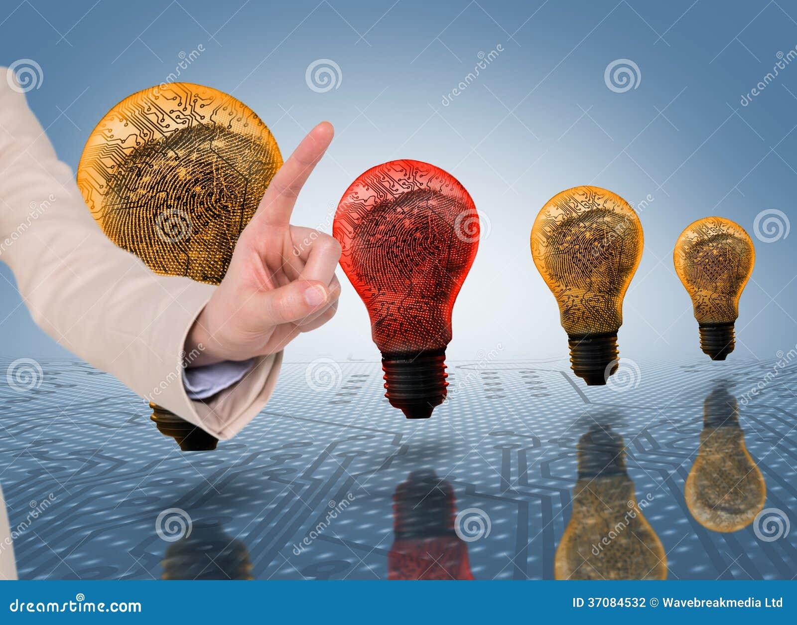 Download Bizneswomanu wskazywać zdjęcie stock. Obraz złożonej z nitkowy - 37084532