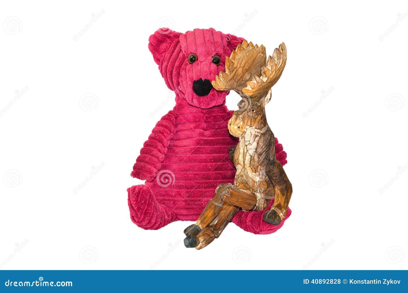 Björn och älg