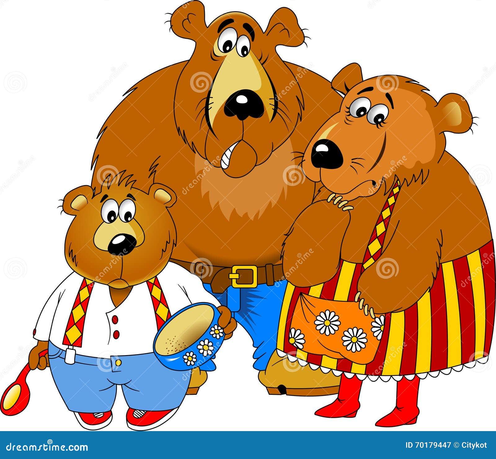Björnar tre