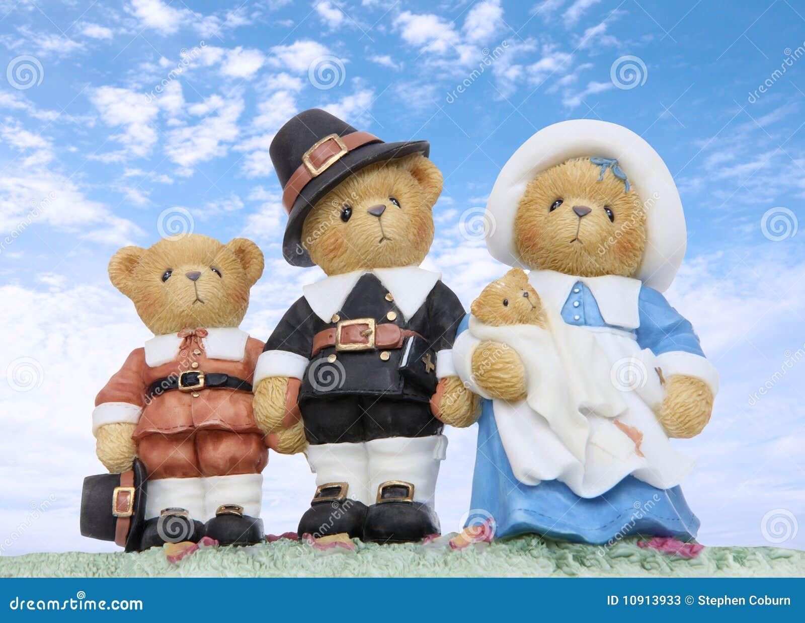 Björnfamiljen vallfärdar tacksägelse