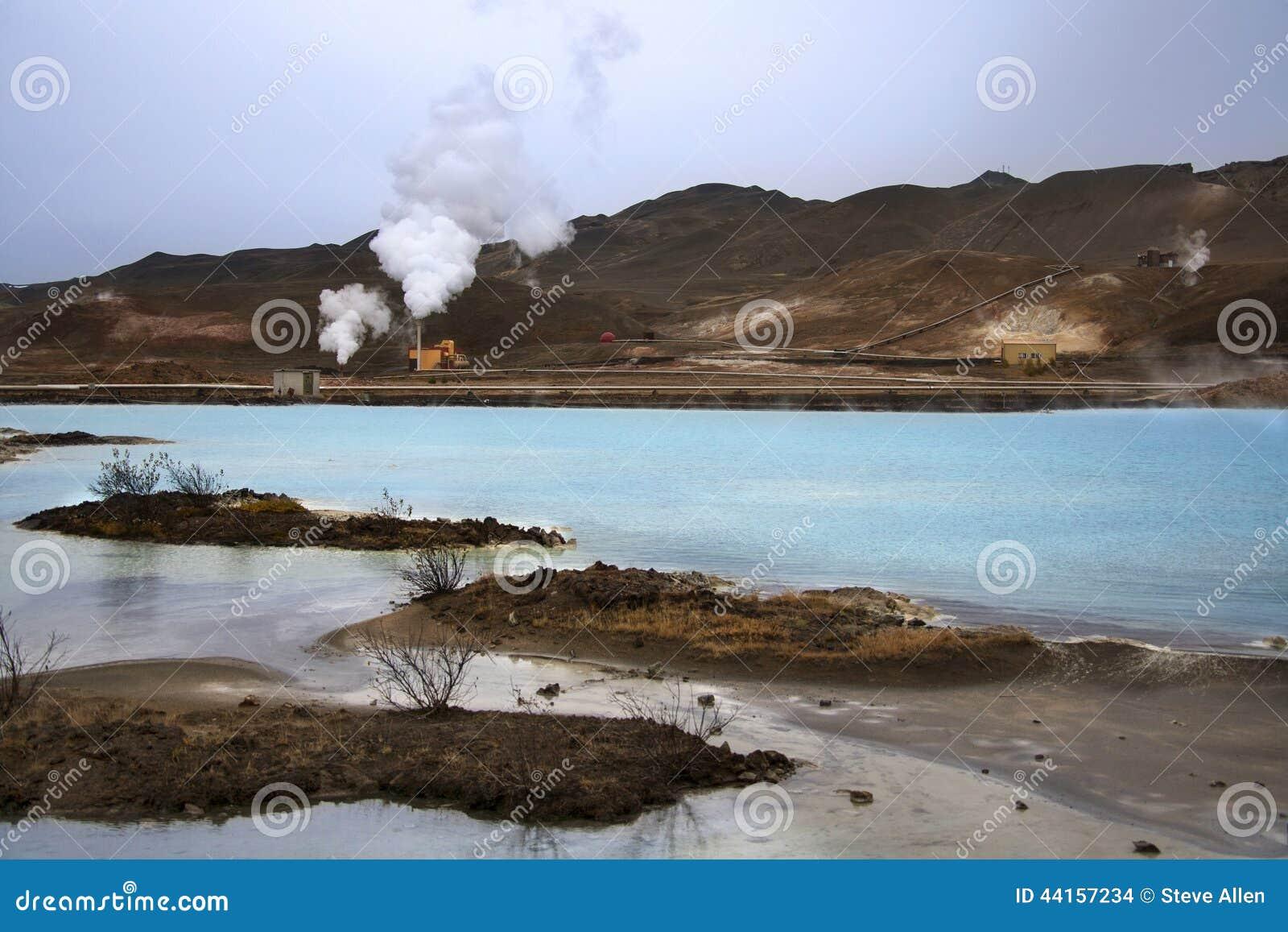 Bjarnarflag Geothermische Krachtcentrale - IJsland