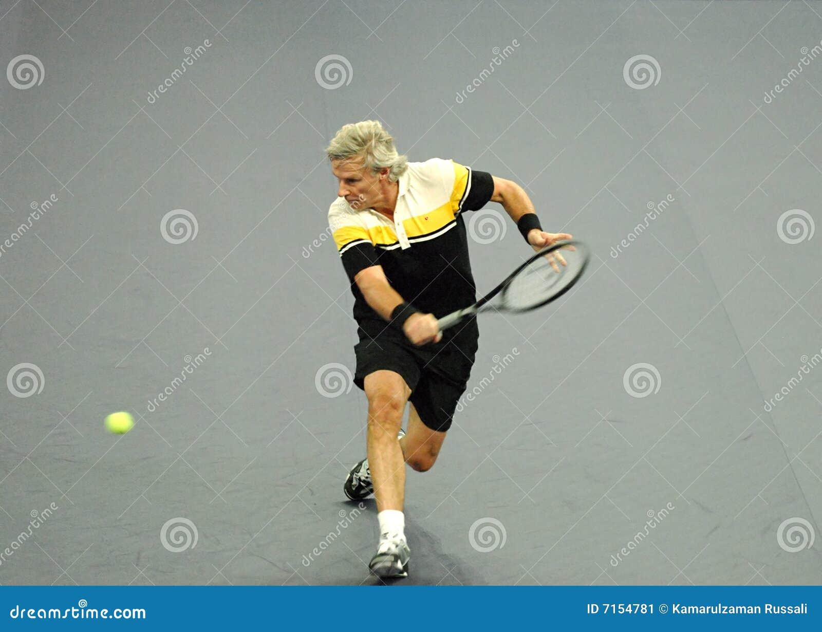 Bjorn Borg van Zweden in acties
