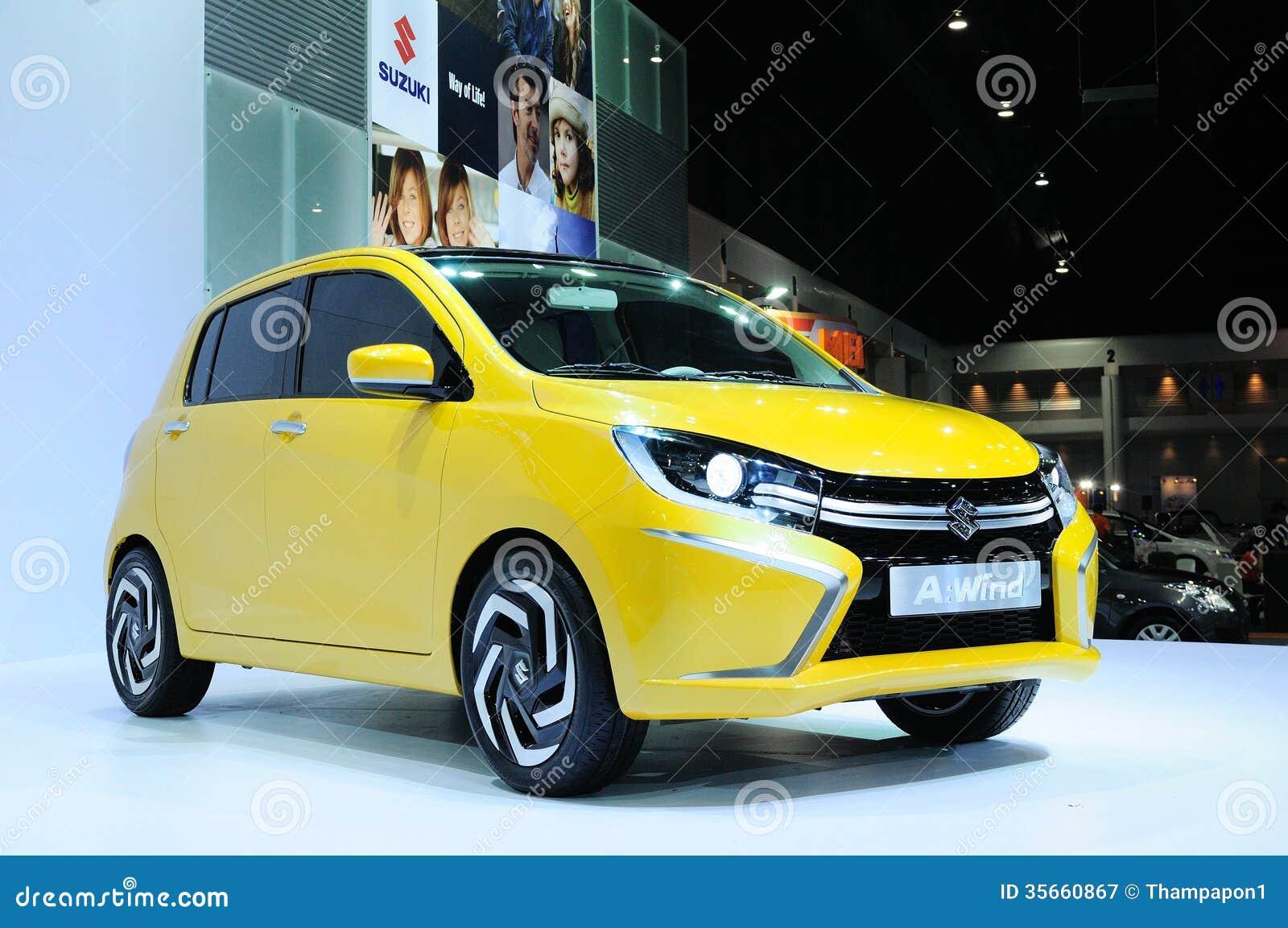 Bkk Nov 28 Suzuki A Wind Eco Concept Car On Display At Thai