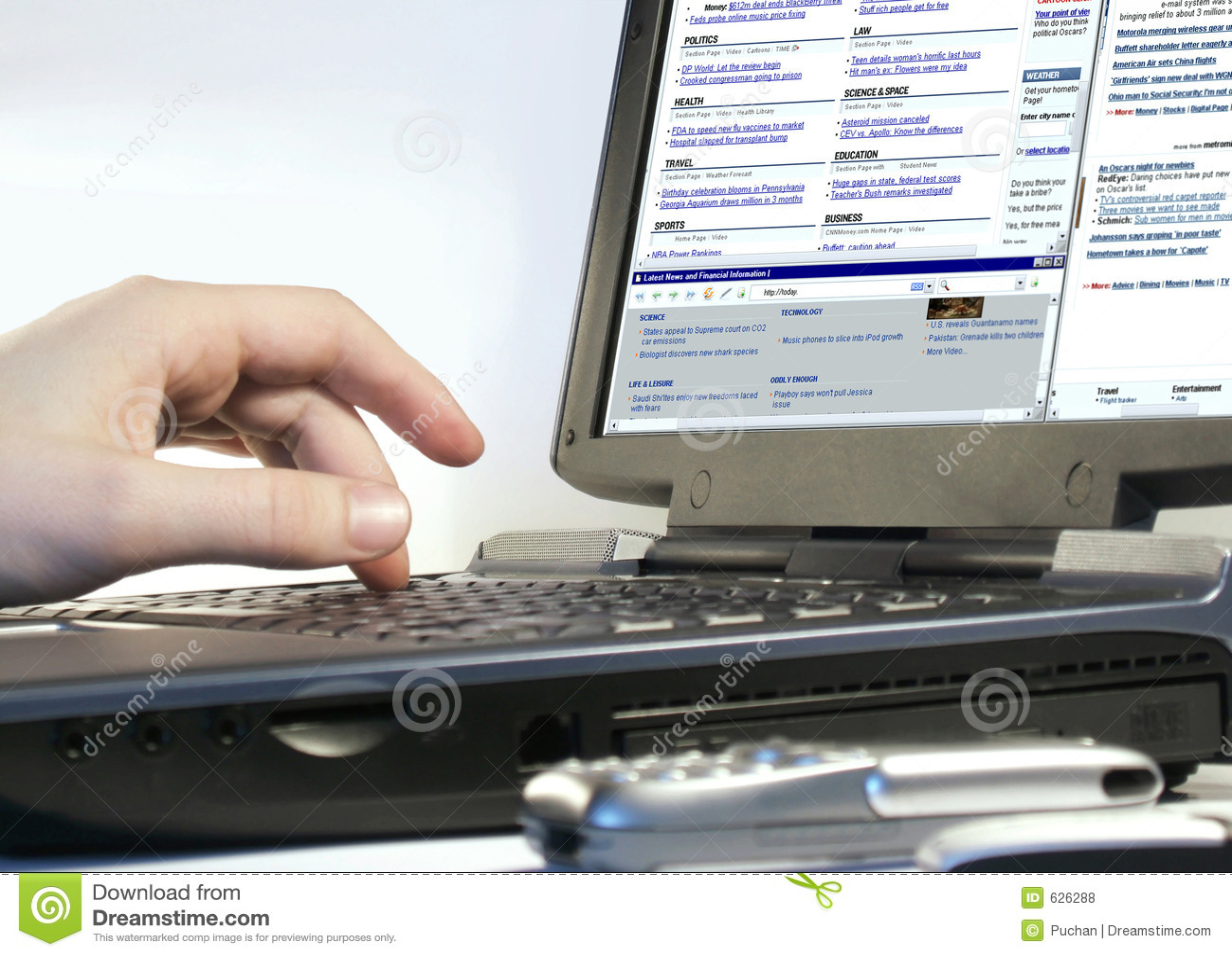 Bläddra internet
