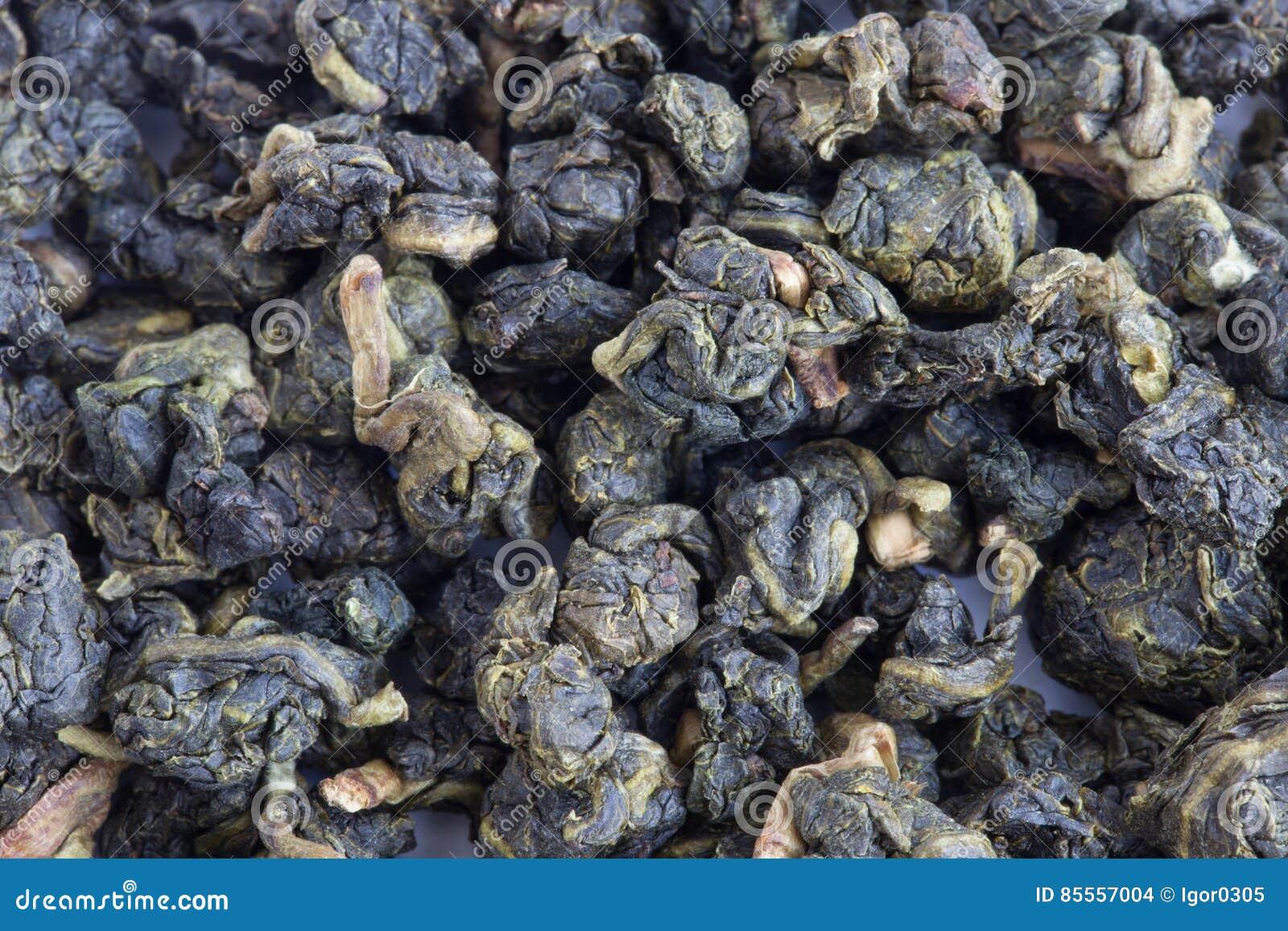 Blätter des grünen Tees