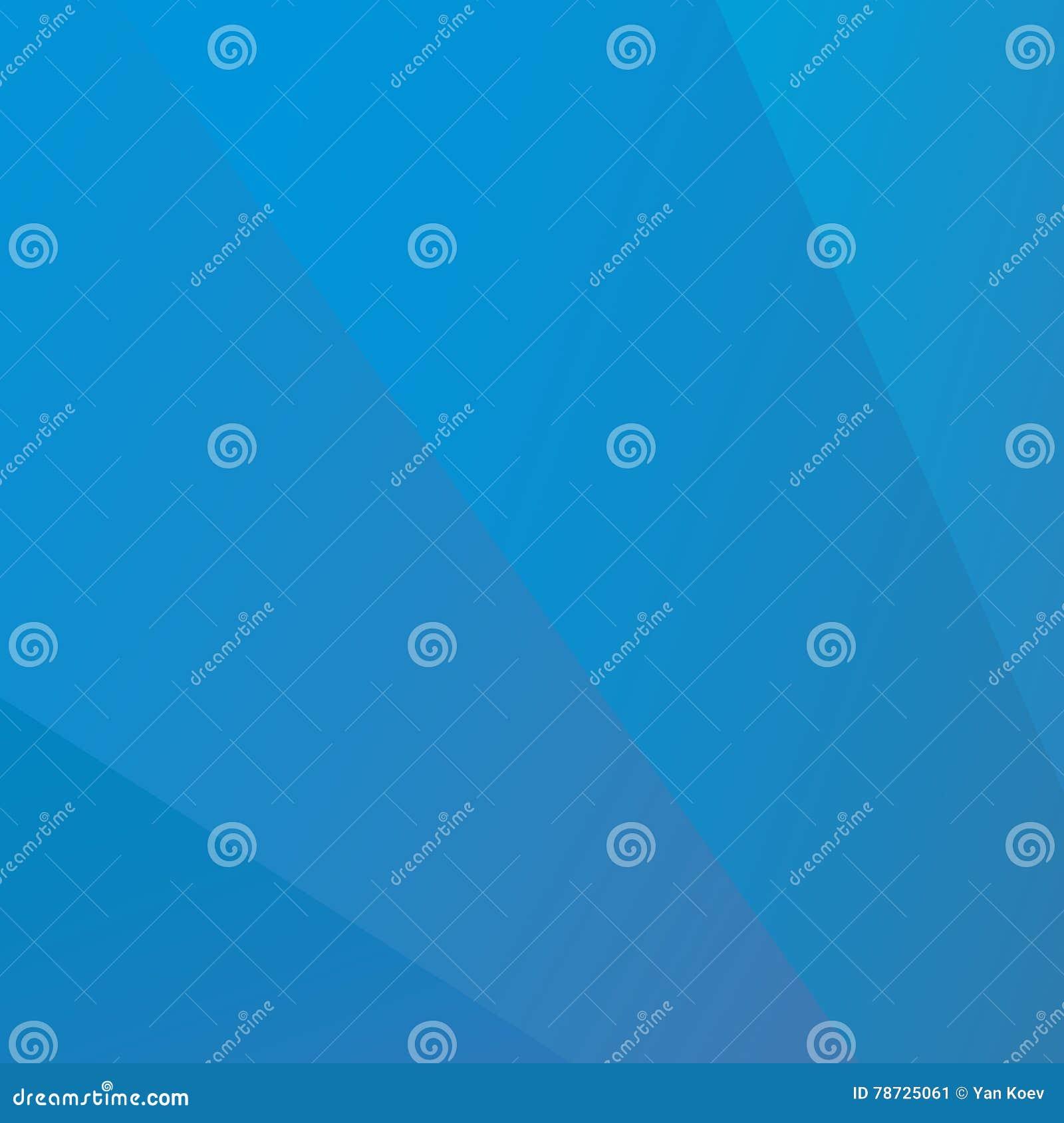 Blå abstrakt bakgrund för fanstillhetvektor
