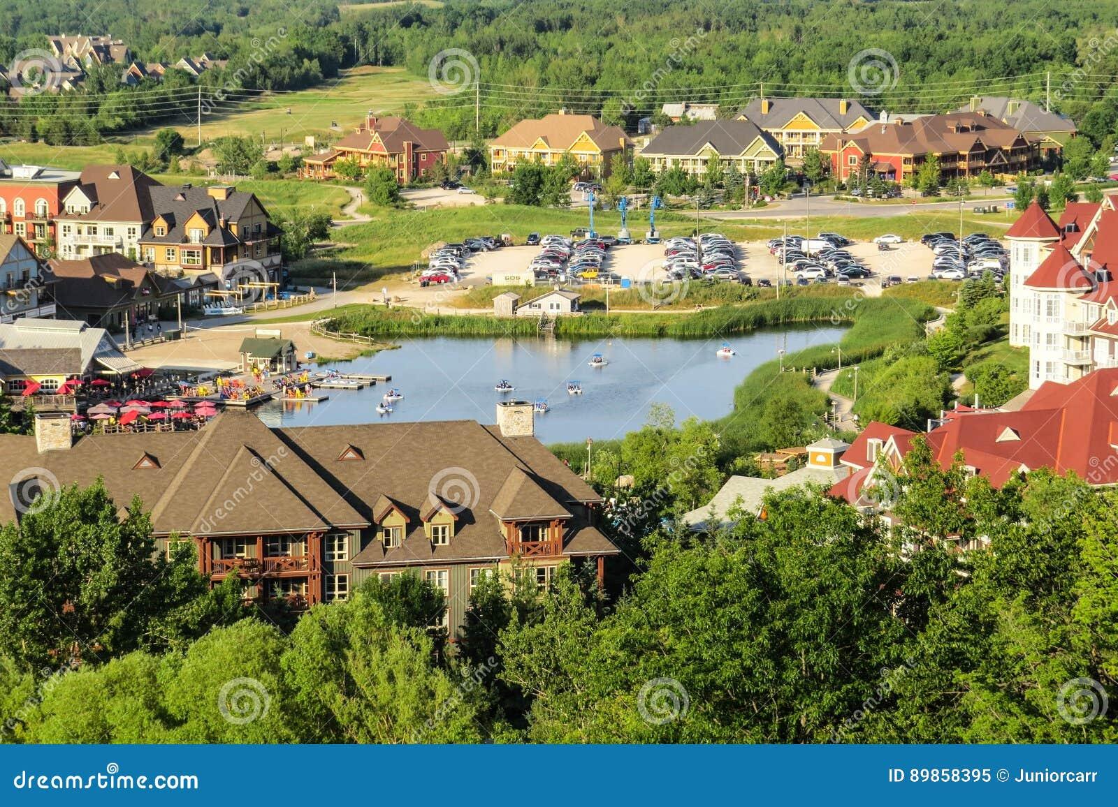 Blå bergby, Ontario Kanada