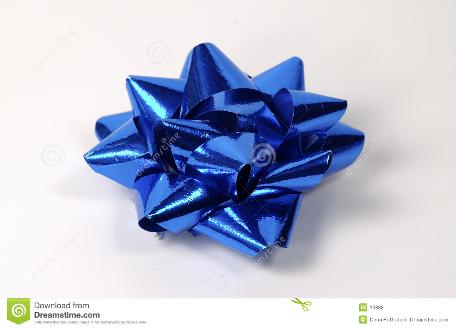 Blå bow